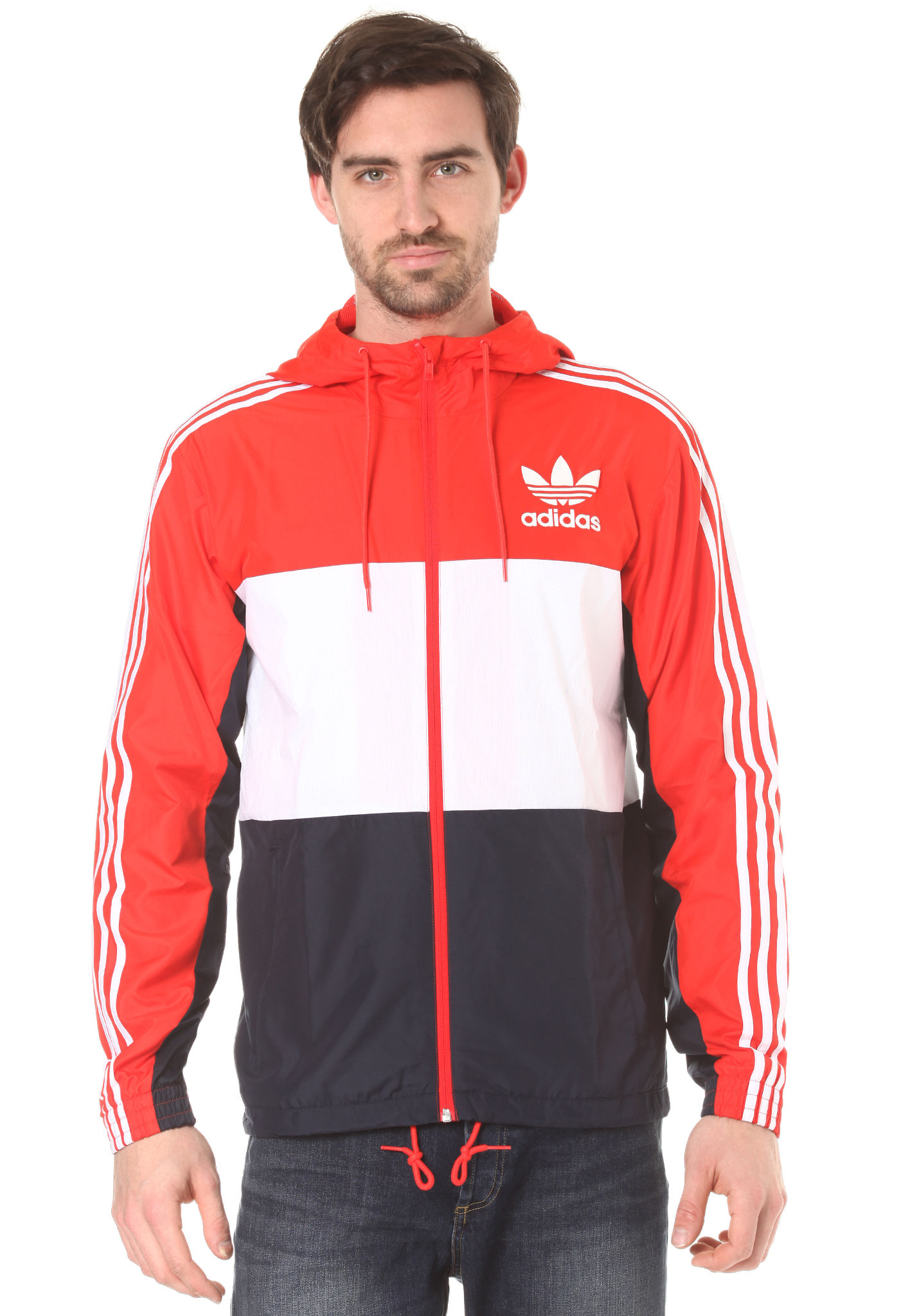 adidas jacke herren rot weiss beliebte jackenmodelle in. Black Bedroom Furniture Sets. Home Design Ideas