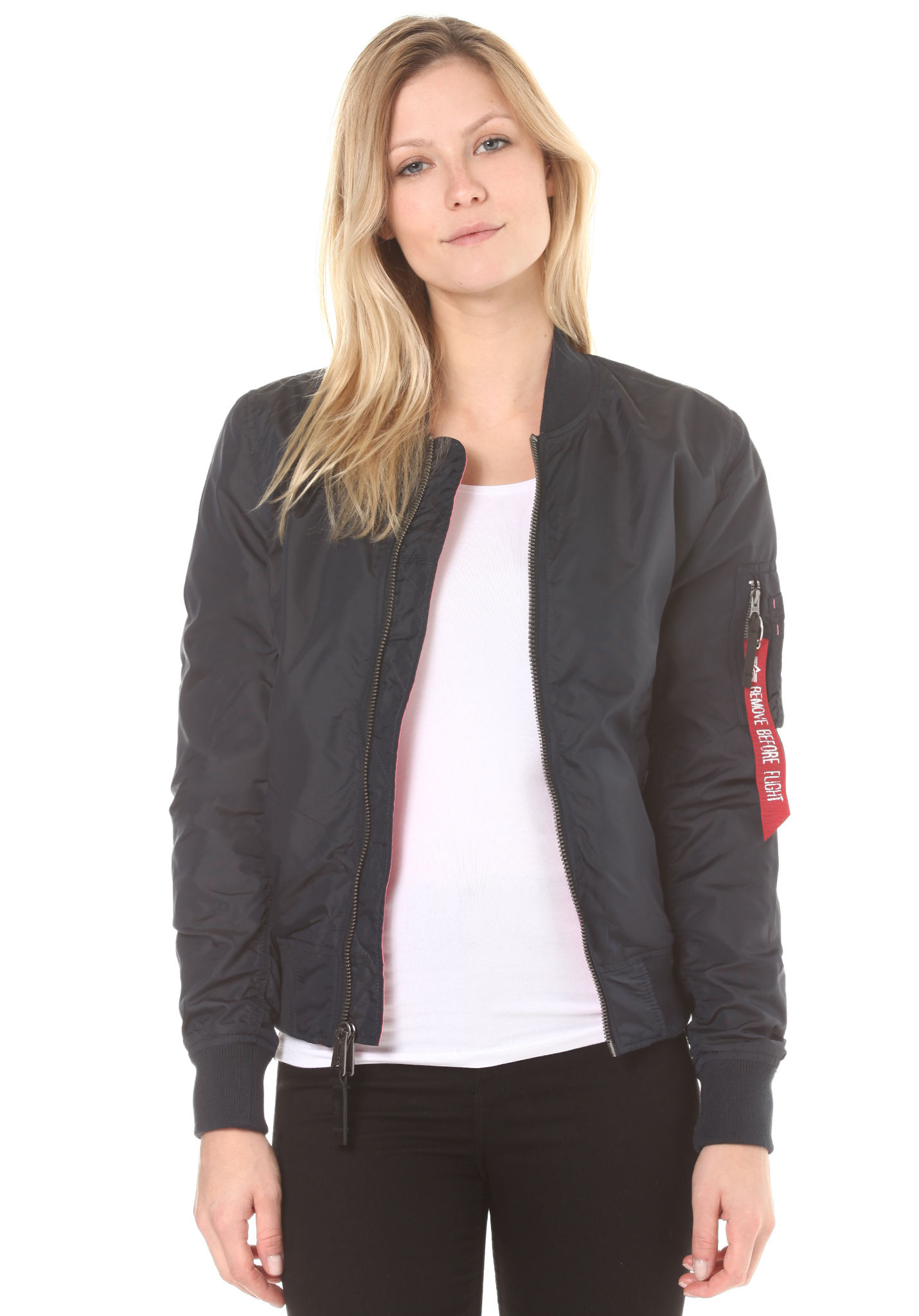 100% authentic e43b4 bed6a ALPHA INDUSTRIES MA-1 TT IP Reversible - Jacket for Women - Blue