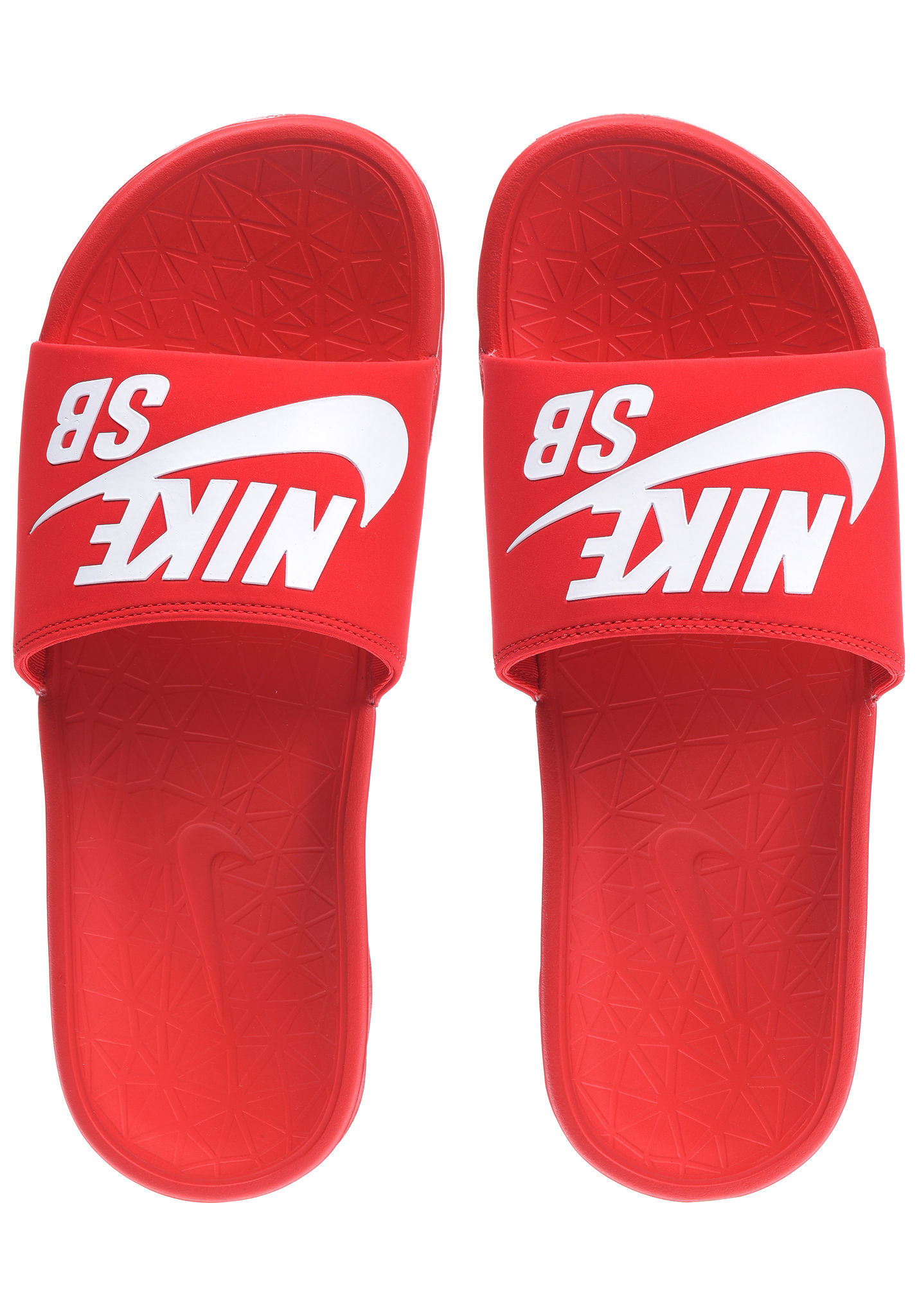the latest b3761 4ea78 NIKE SB Benassi Solarsoft - Sandalias para Hombres - Rojo - Planet Sports