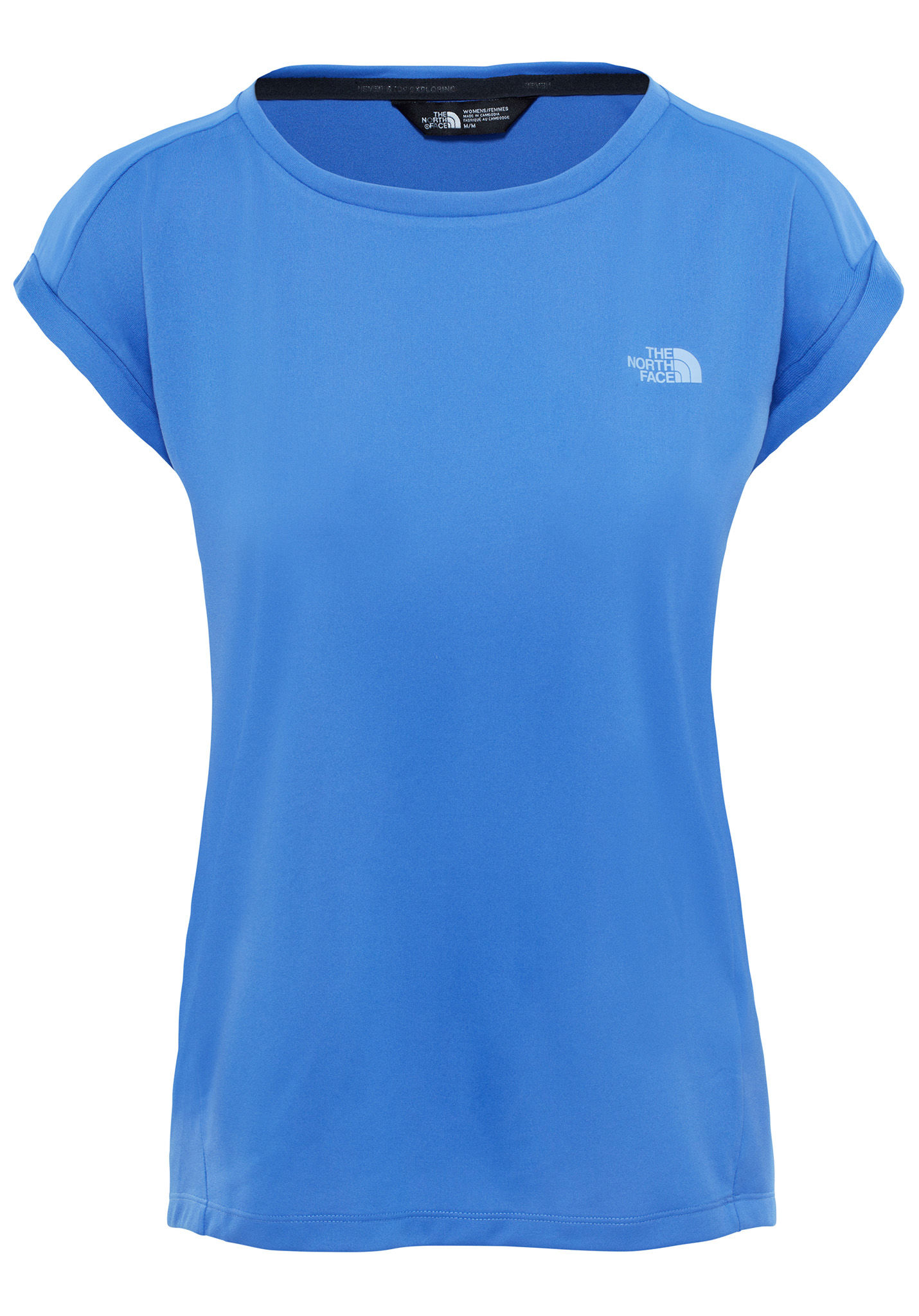 dea7f671b061fe THE NORTH FACE Tanken - T-Shirt für Damen - Blau - Planet Sports
