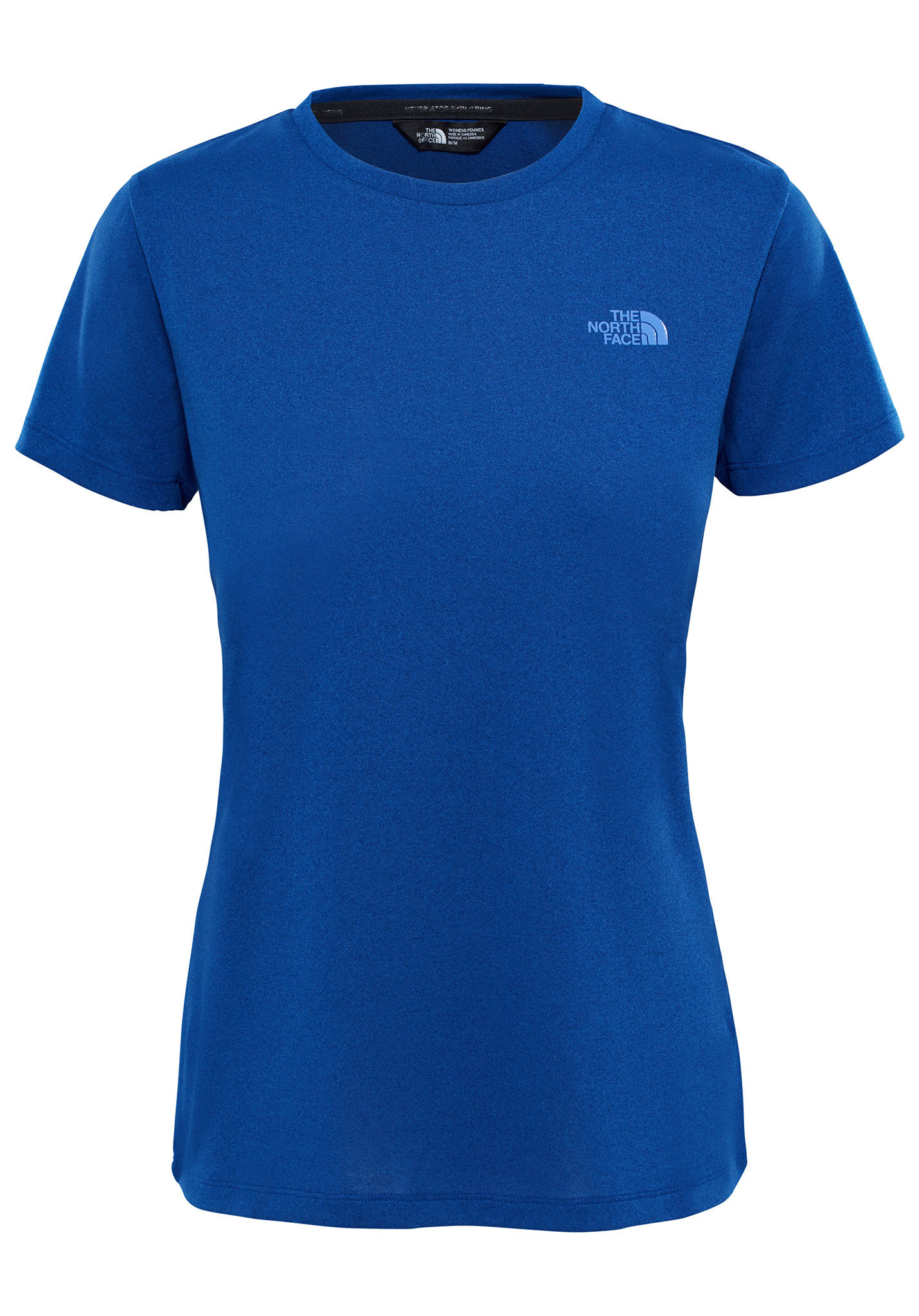 821c68be0f686f THE NORTH FACE Tanken - T-Shirt für Damen - Blau - Planet Sports