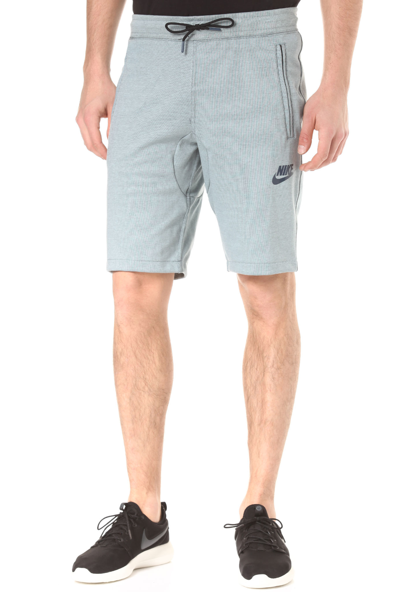 NIKE SPORTSWEAR AV15 Fleece - Short pour Homme - Bleu - Planet Sports b40e0a28a7e