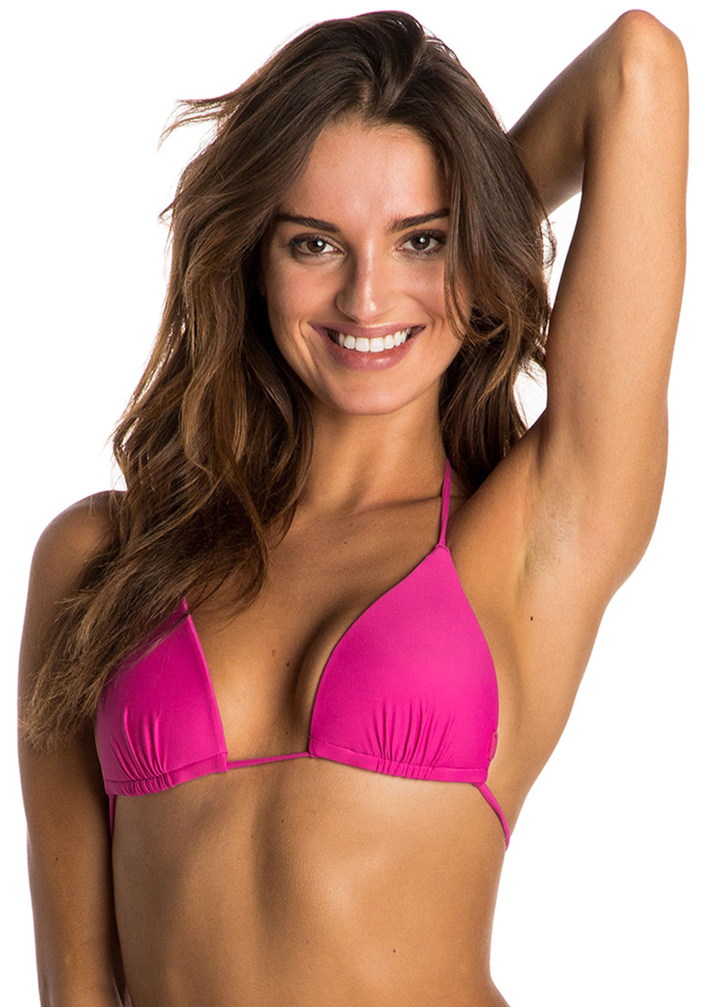 Rip Curl Sun And Surf Moulded Triangle - Haut de bikini pour Femme - Rose