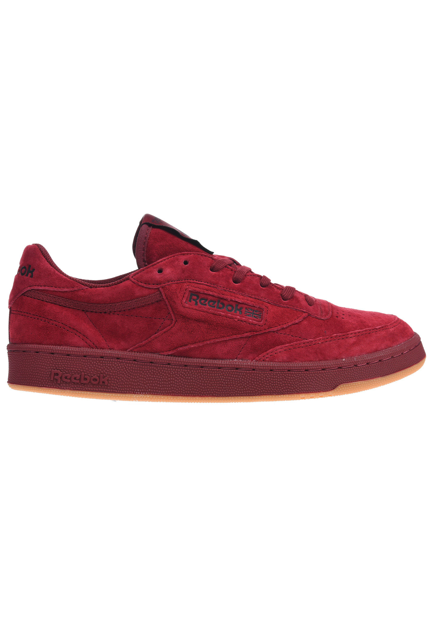 Chaussures Reebok rouges homme