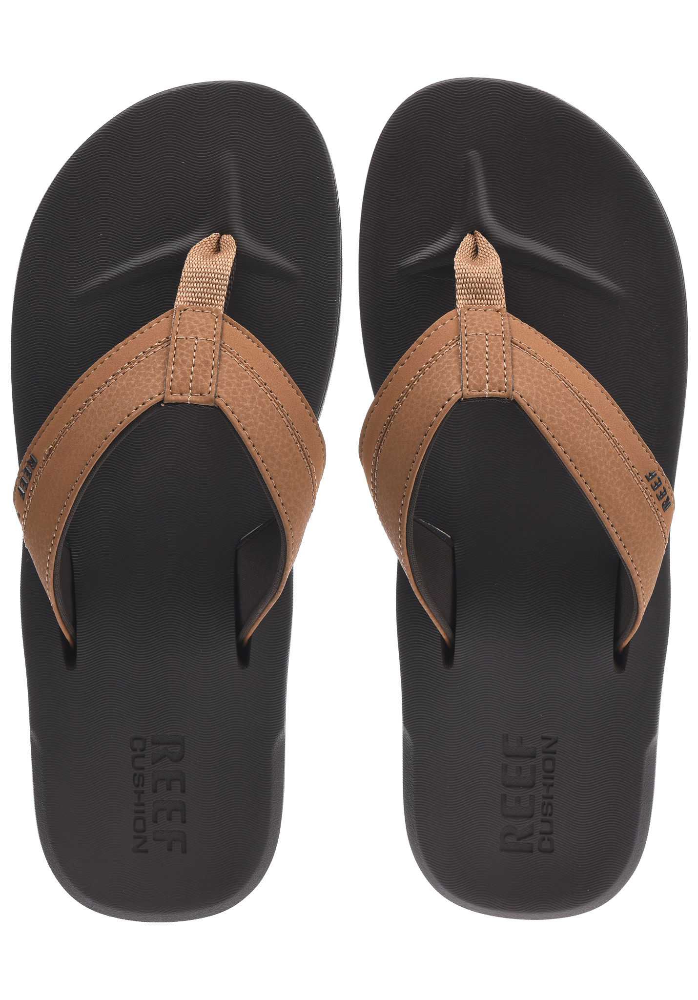 1a5ec91e1b94 Reef Contoured Cushion - Sandals for Men - Brown - Planet Sports
