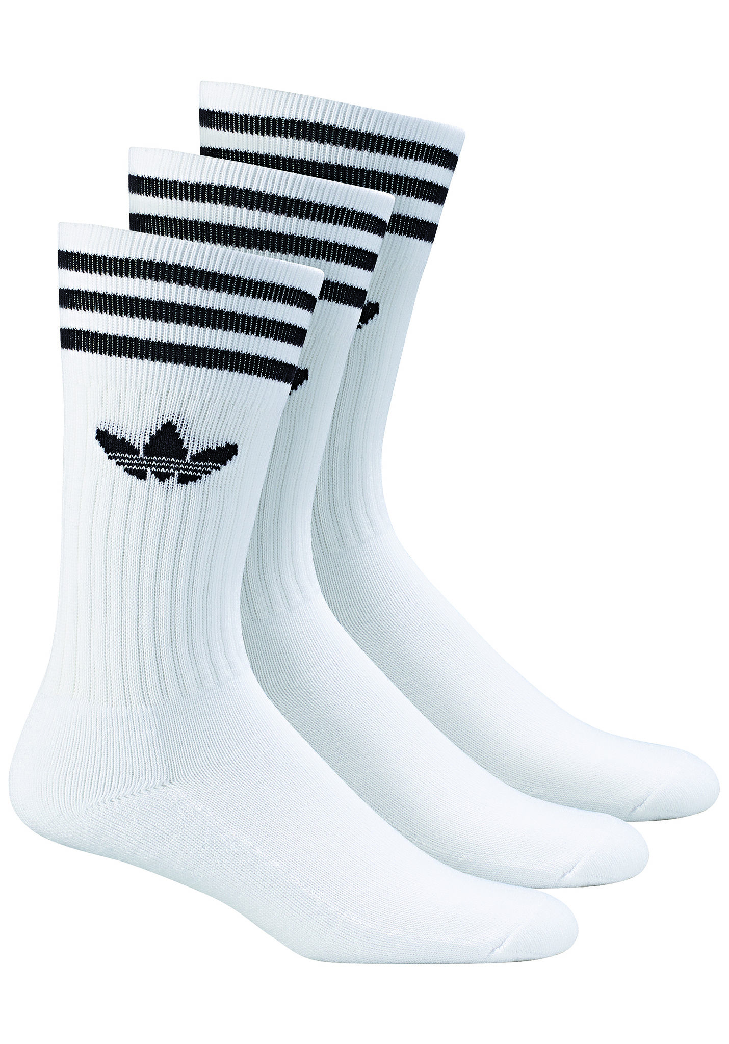 adidas Originals Solid Crew - Socken - Weiß