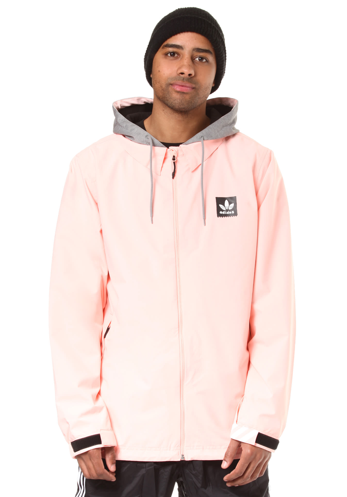 ADIDAS Civilliangnz - Snowboard Jacket for Men - Pink - Planet Sports