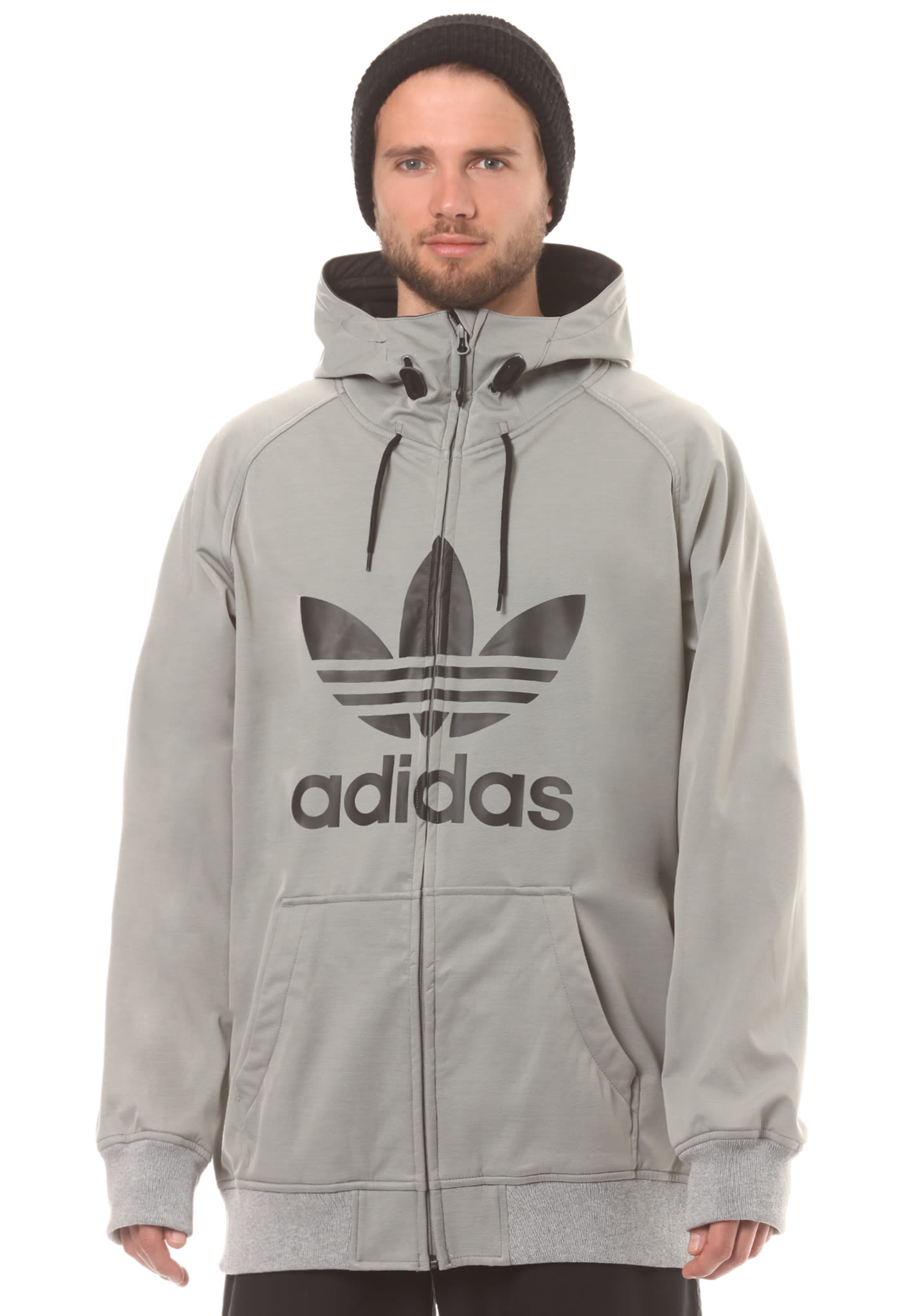 ADIDAS ORIGINALS Greeley Softshell - Snowboard Jacket for Men - Grey -  Planet Sports faa6ab6bd2