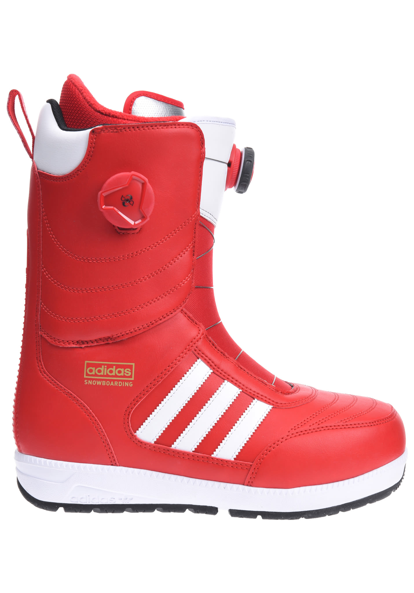 san francisco 679ed 52cfe Adidas Snowboarding Response ADV - Snowboard Boots for Men - Red - Planet  Sports