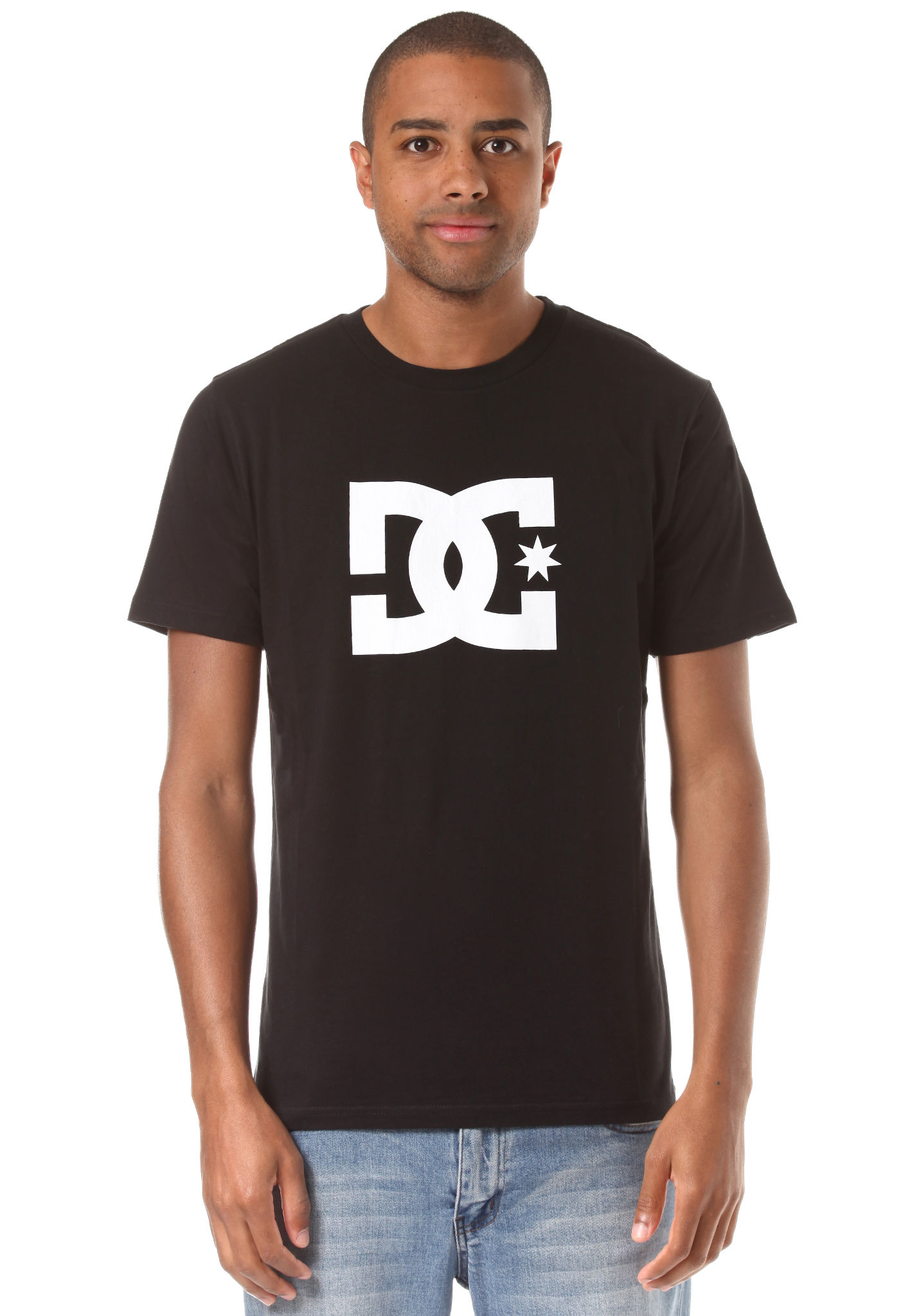 2956f359306 DC Star - T-Shirt for Men - Black - Planet Sports