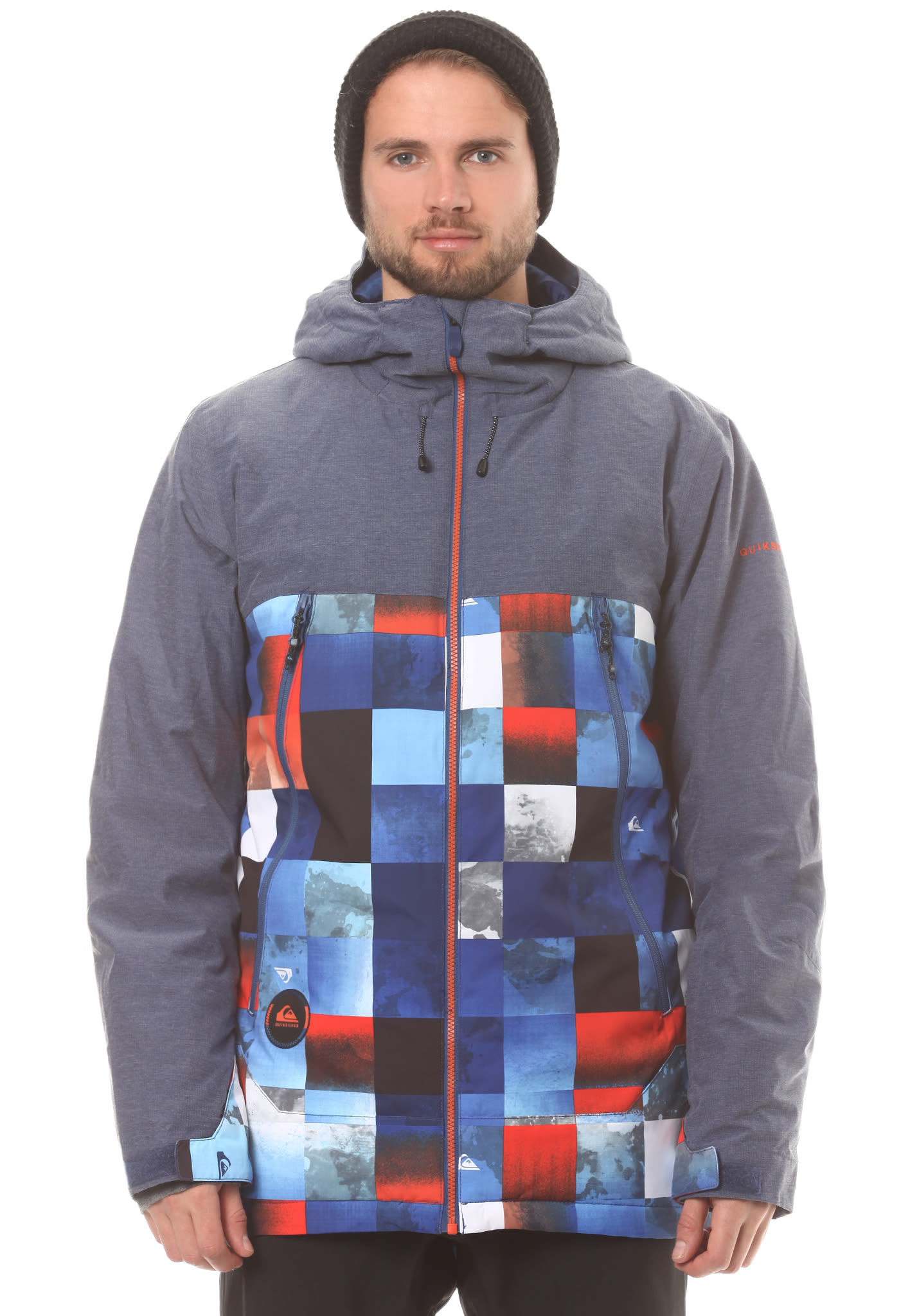 a3304fd8a31 Quiksilver Sierra - Snowboard Jacket for Men - Blue - Planet Sports