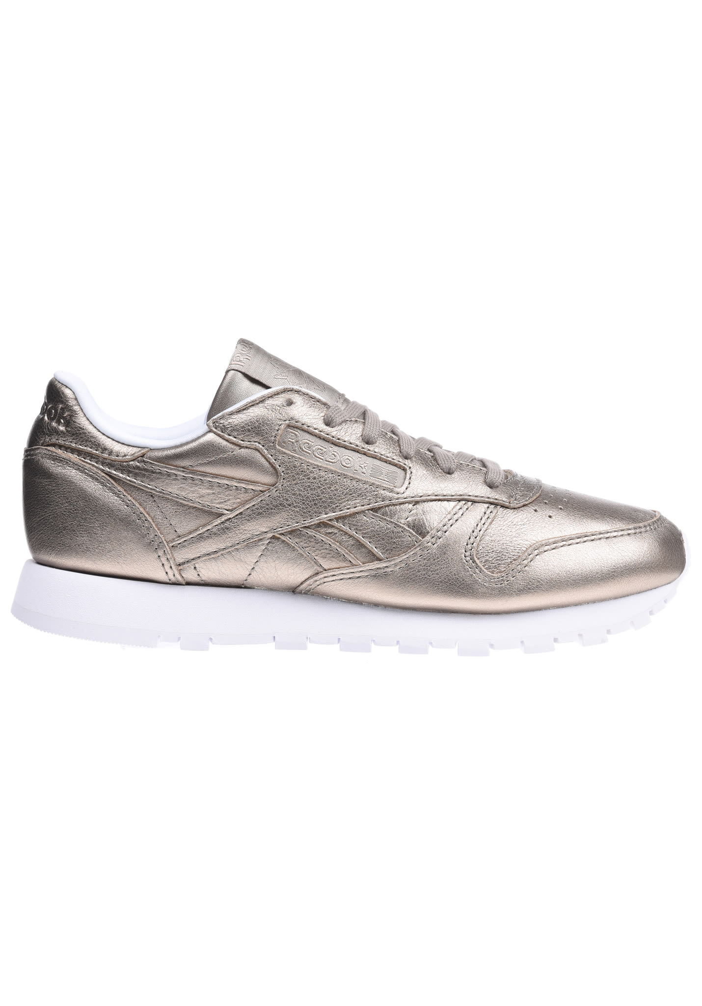 7ad1df5b9b3 Reebok Classic Lthr Melted Meta - Sneakers for Women - Gold - Planet Sports