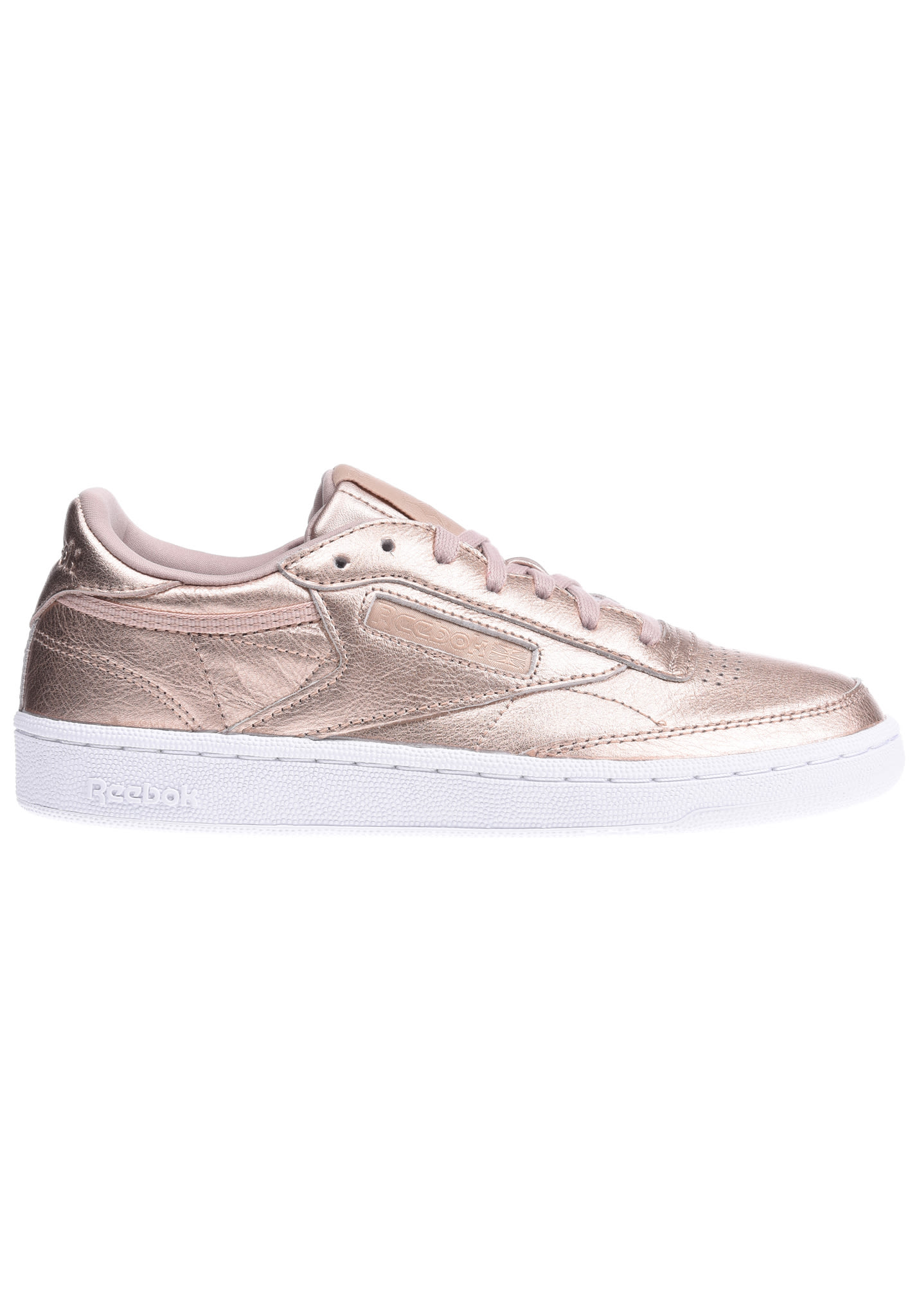 52c520a0613 Reebok Club C 85 Melted Metal - Baskets pour Femme - Rose - Planet Sports
