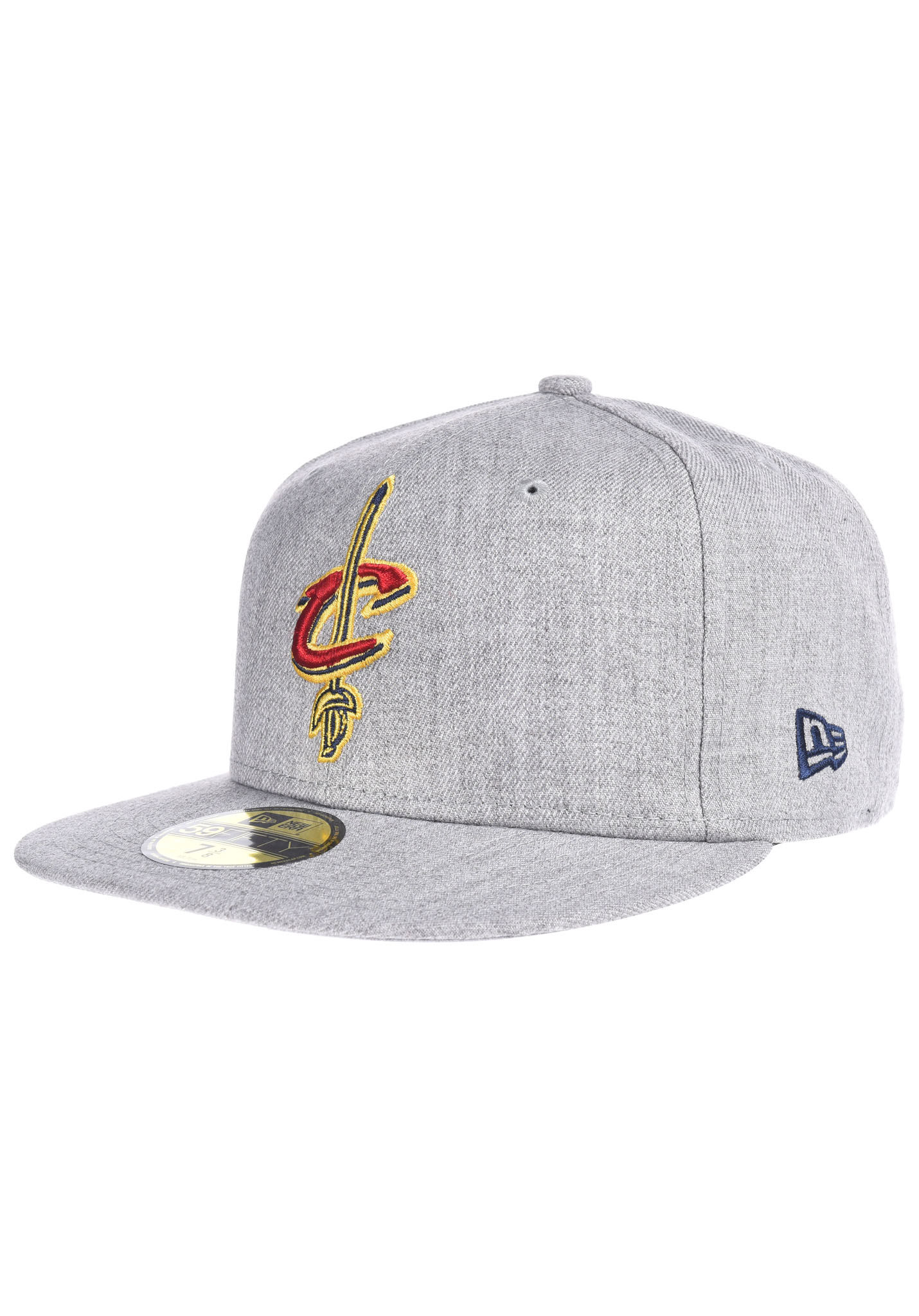 new arrival 5364b 40a10 NEW Era NBA Heather Fitted Cleveland Cavaliers - Fitted Cap - Grey - Planet  Sports