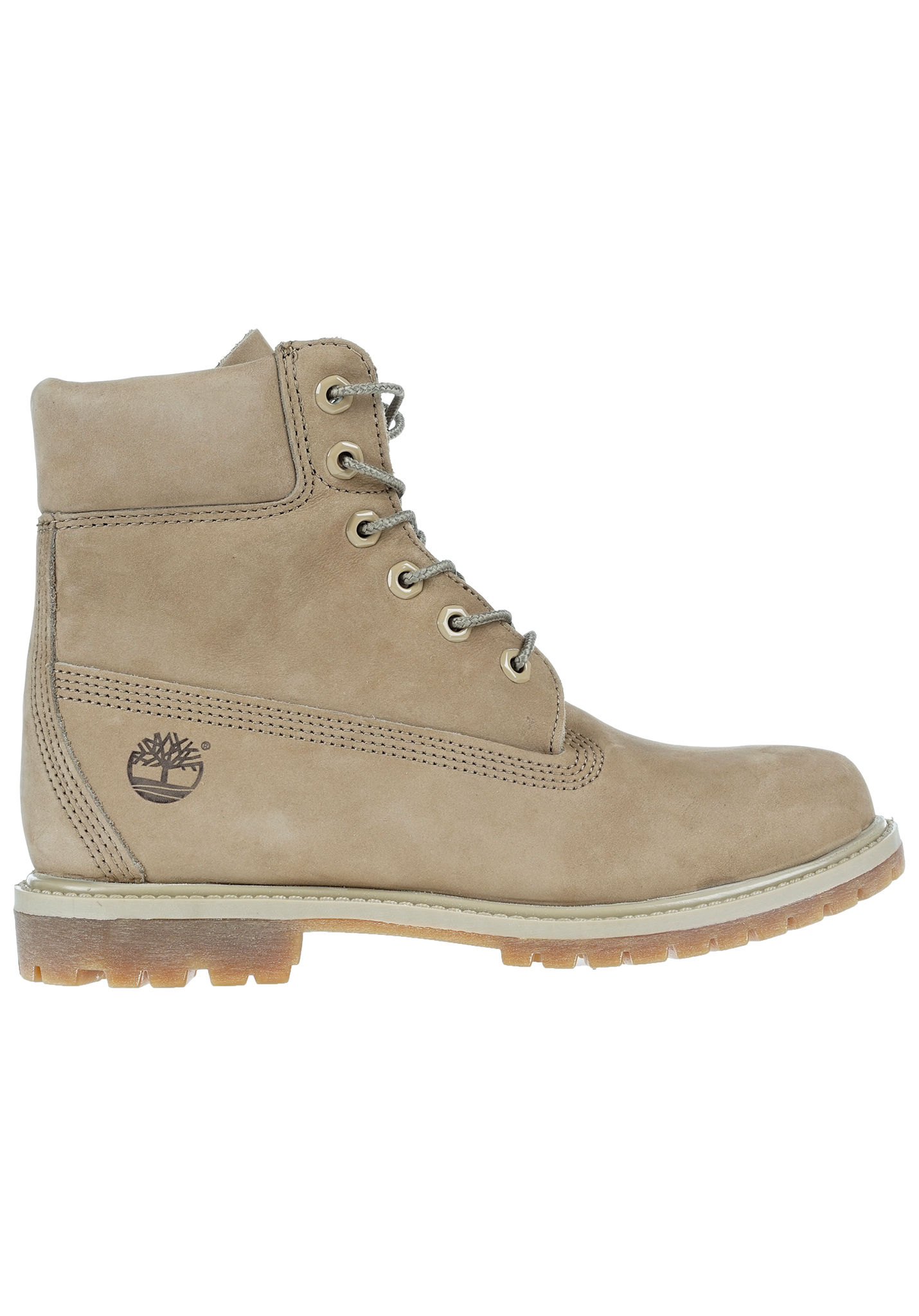 low priced c6f6c 5776d TIMBERLAND 6 inch Premium - Boots for Women - Beige