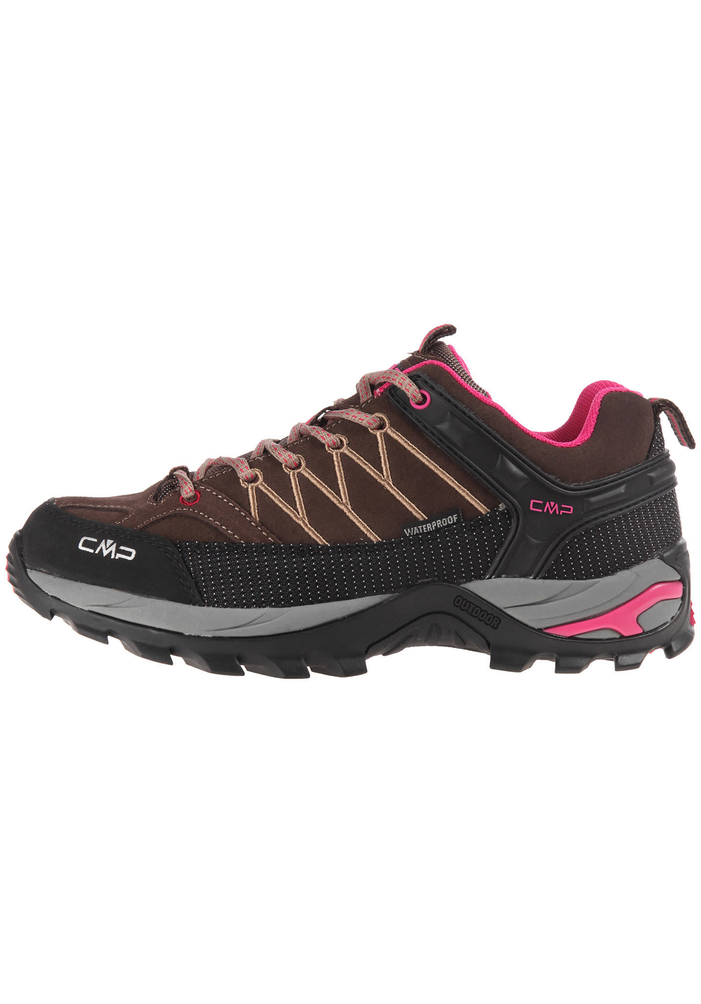 CMP Rigel Low - Scarpe da trekking per Donna - Marrone - Planet Sports 47cc9a99377