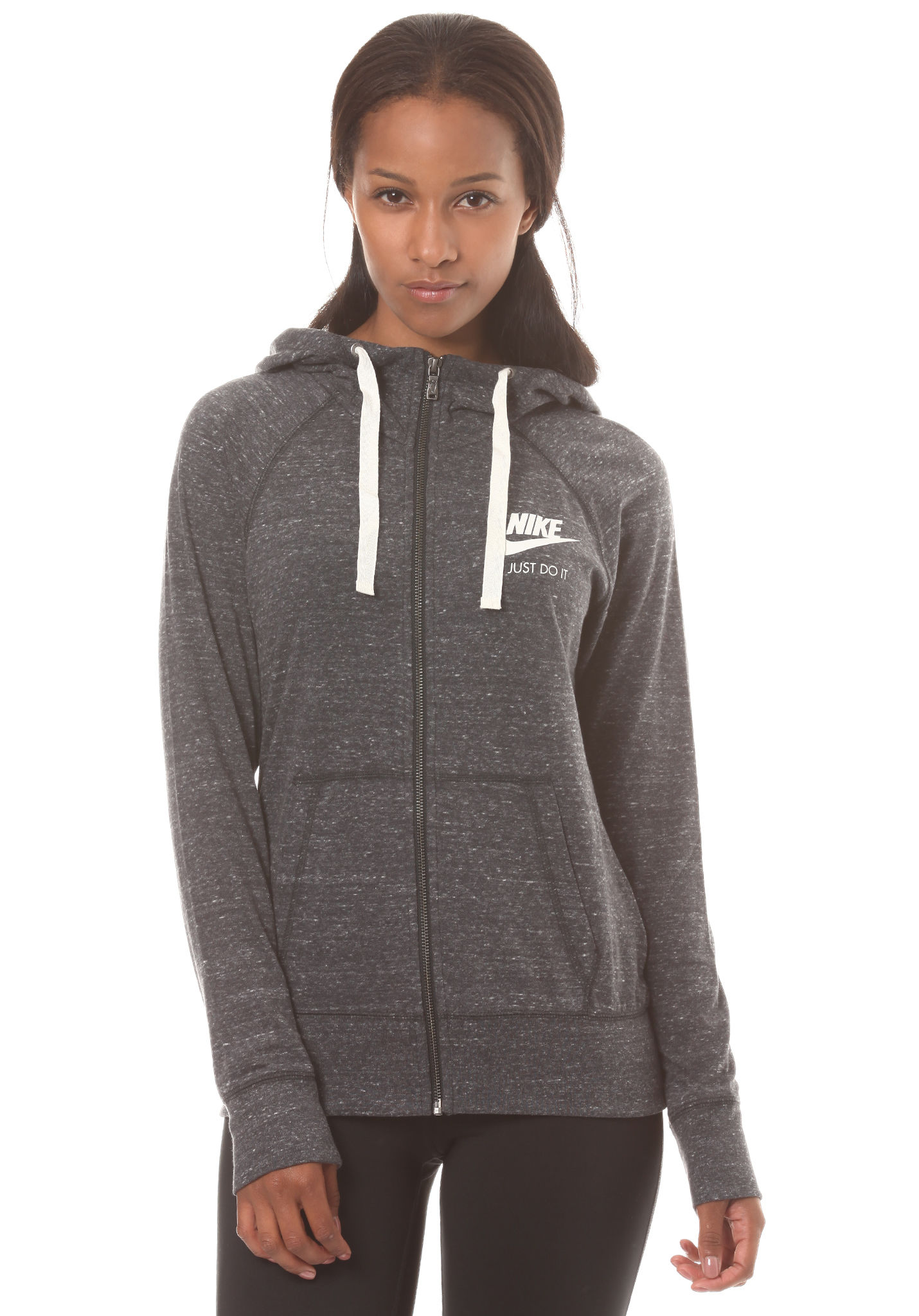 NIKE SPORTSWEAR Gym Vintage - Hooded Jacket for Women - Black - Planet  Sports 4339bb8e2cd