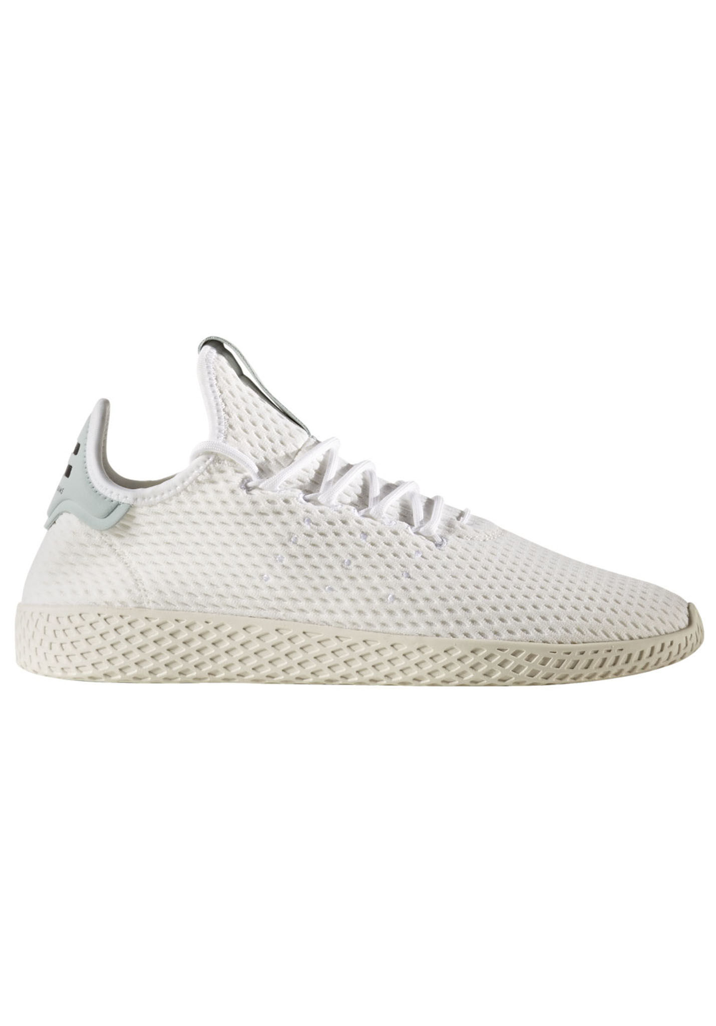 740de72c39f3ce adidas Originals Pharrell Williams Tennis HU - Sneaker - Weiß - Planet  Sports