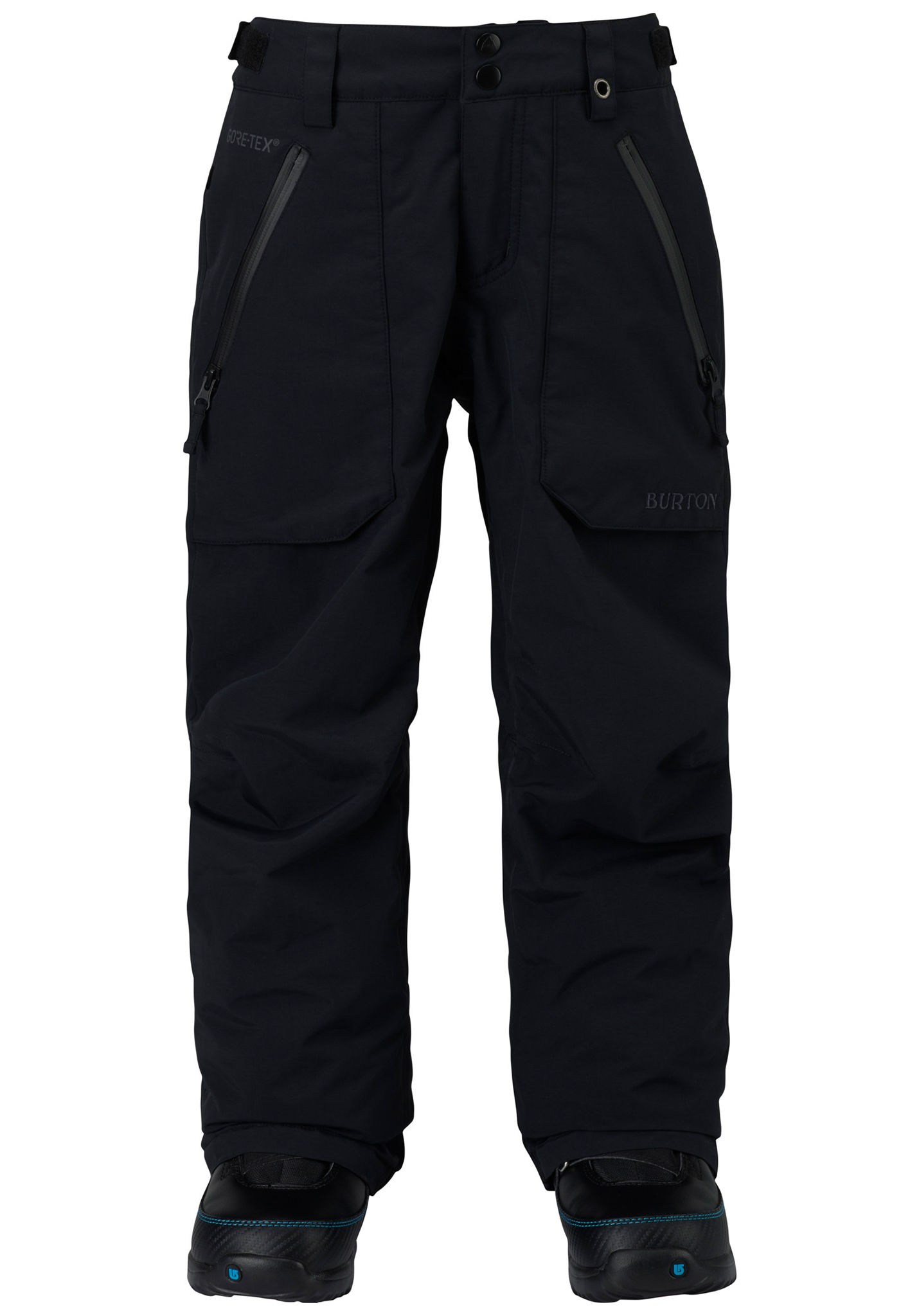 1965cc781155 Burton Gore Stark - Snowboard Pants for Kids Boys - Black - Planet ...