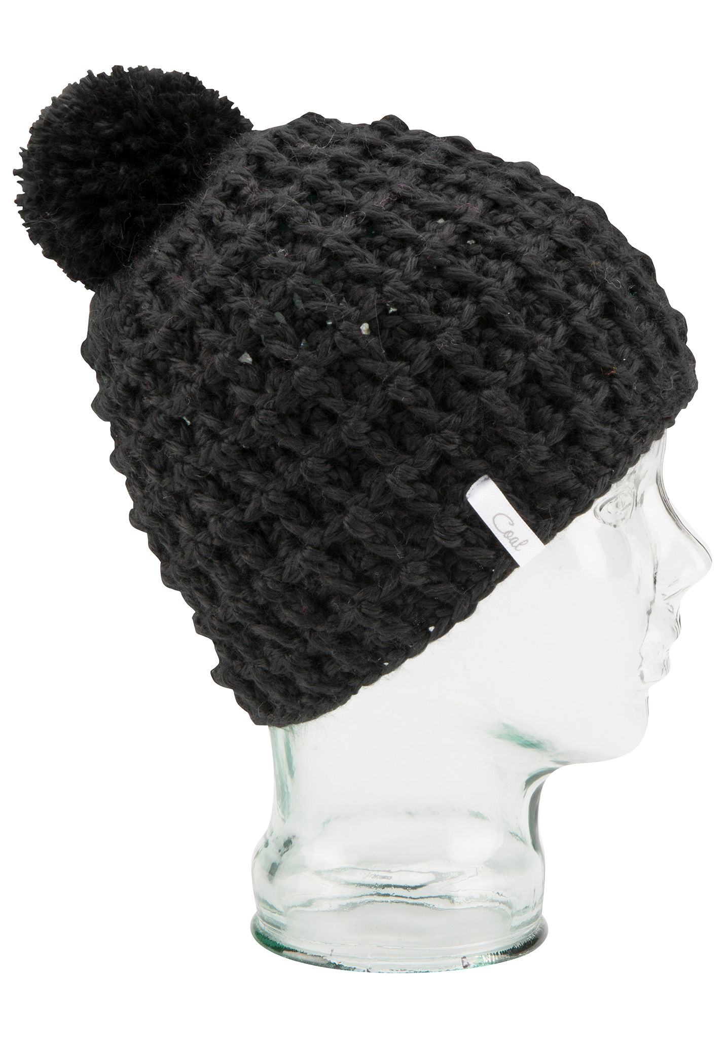 92b18eda7d7 Coal The Waffle - Beanie for Women - Black - Planet Sports