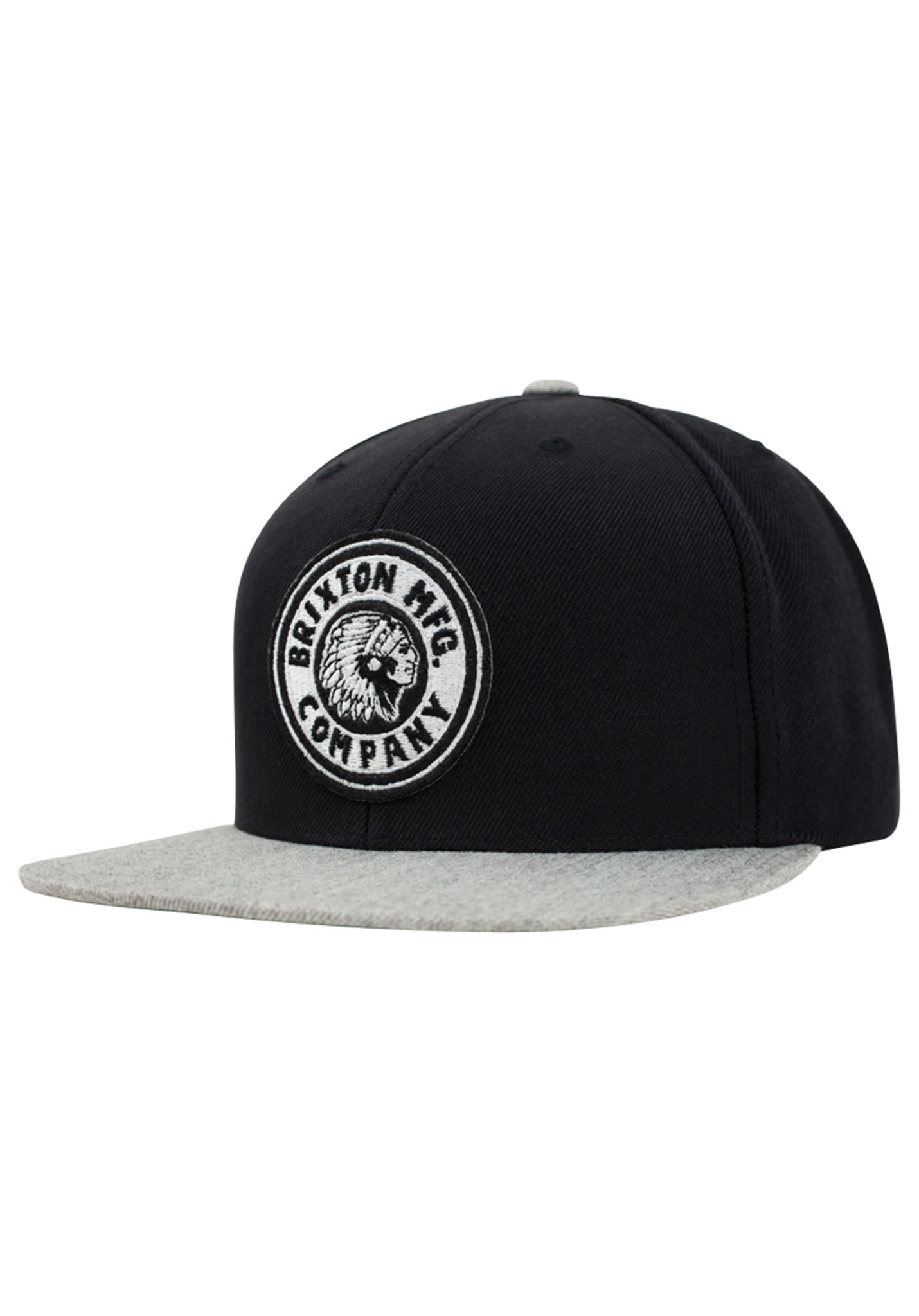 f7b55561 BRIXTON Rival - Snapback Cap - Black - Planet Sports