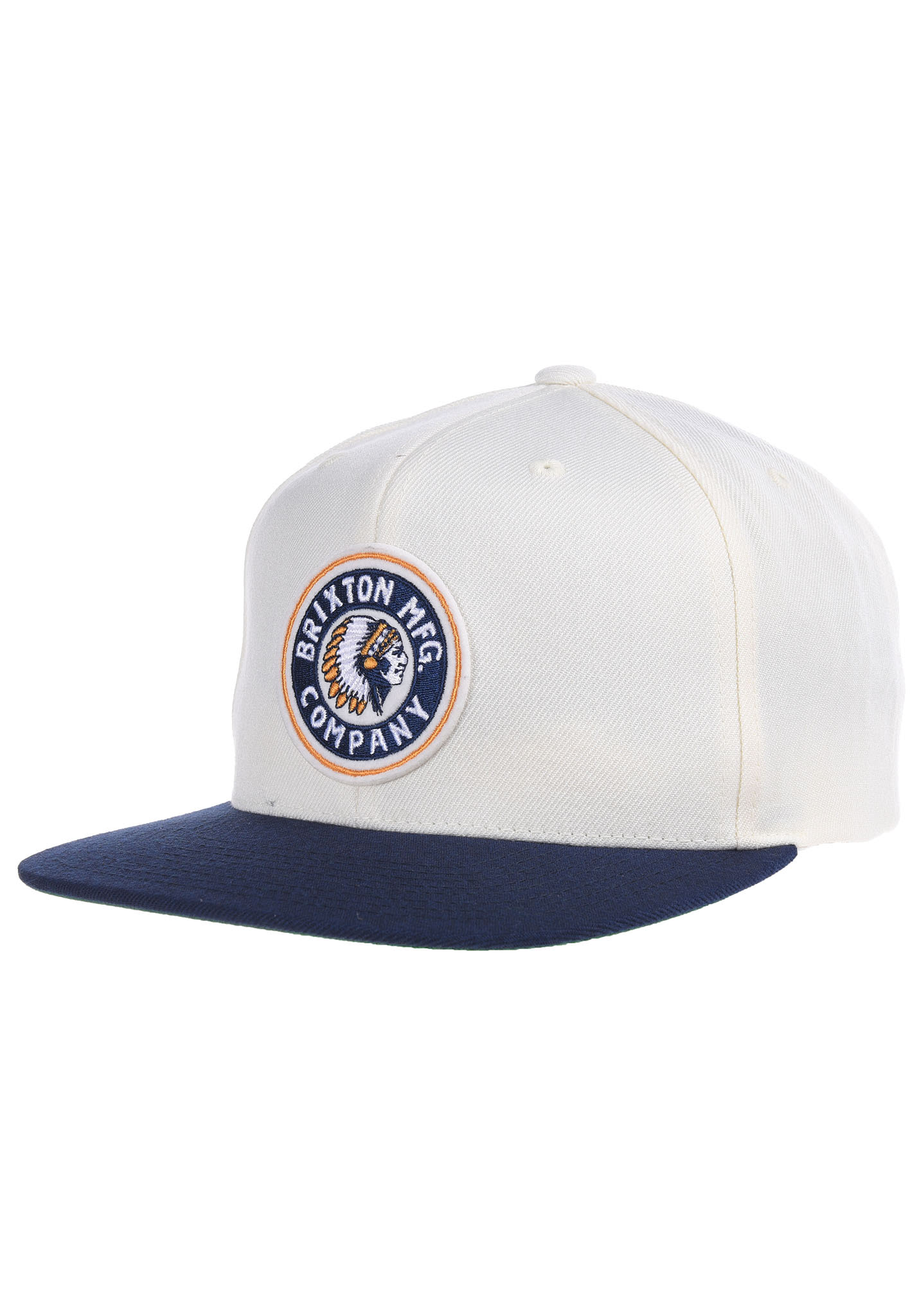 c7811411 BRIXTON Rival - Snapback Cap - White - Planet Sports
