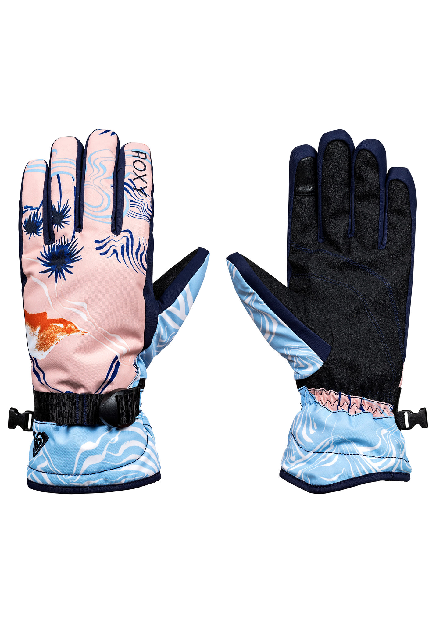 6712e60e244795 Roxy Jetty - Snowboard Handschuhe für Damen - Orange - Planet Sports