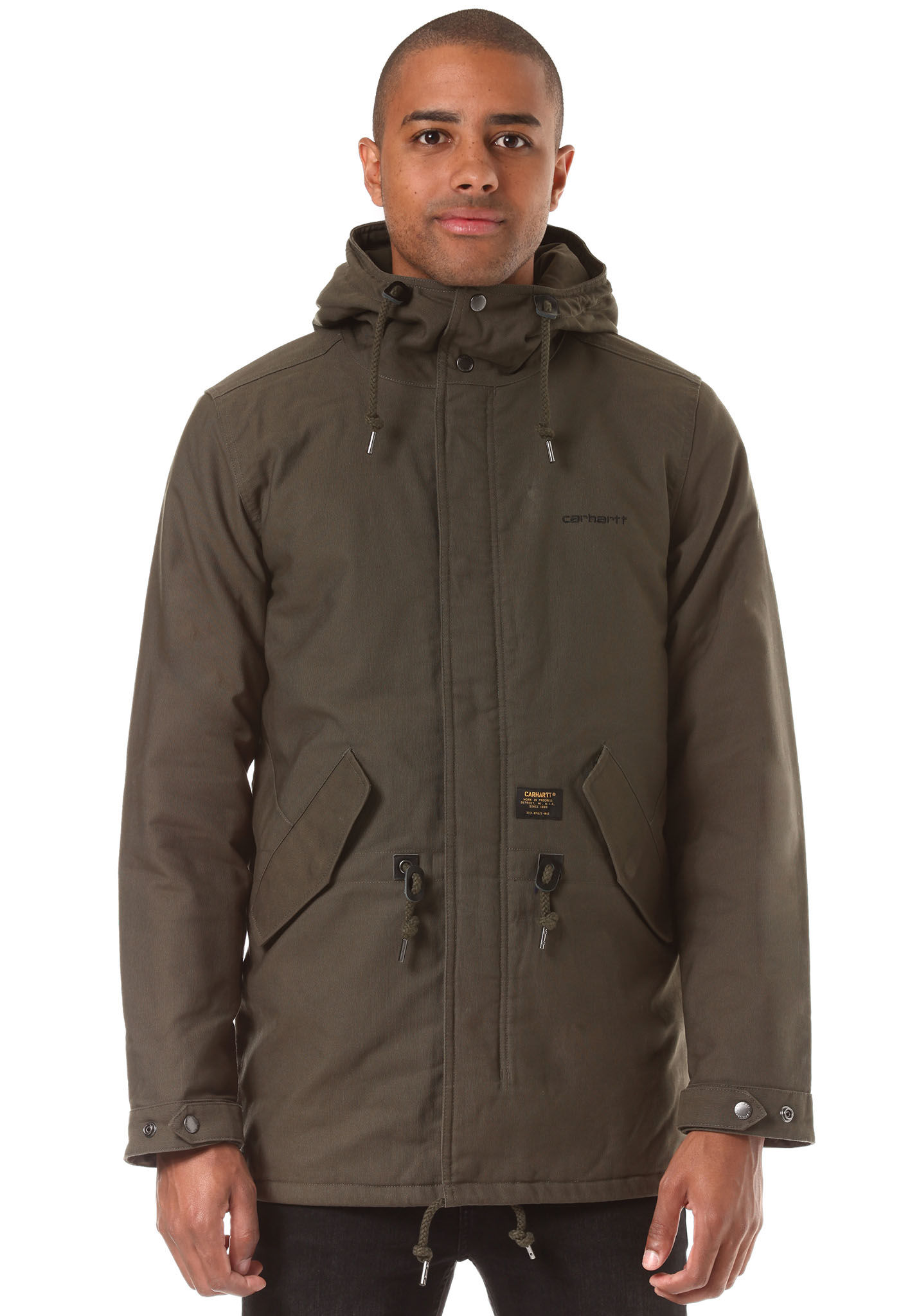 brand new 536e1 ee0d1 carhartt WIP Clash - Jacket for Men - Brown