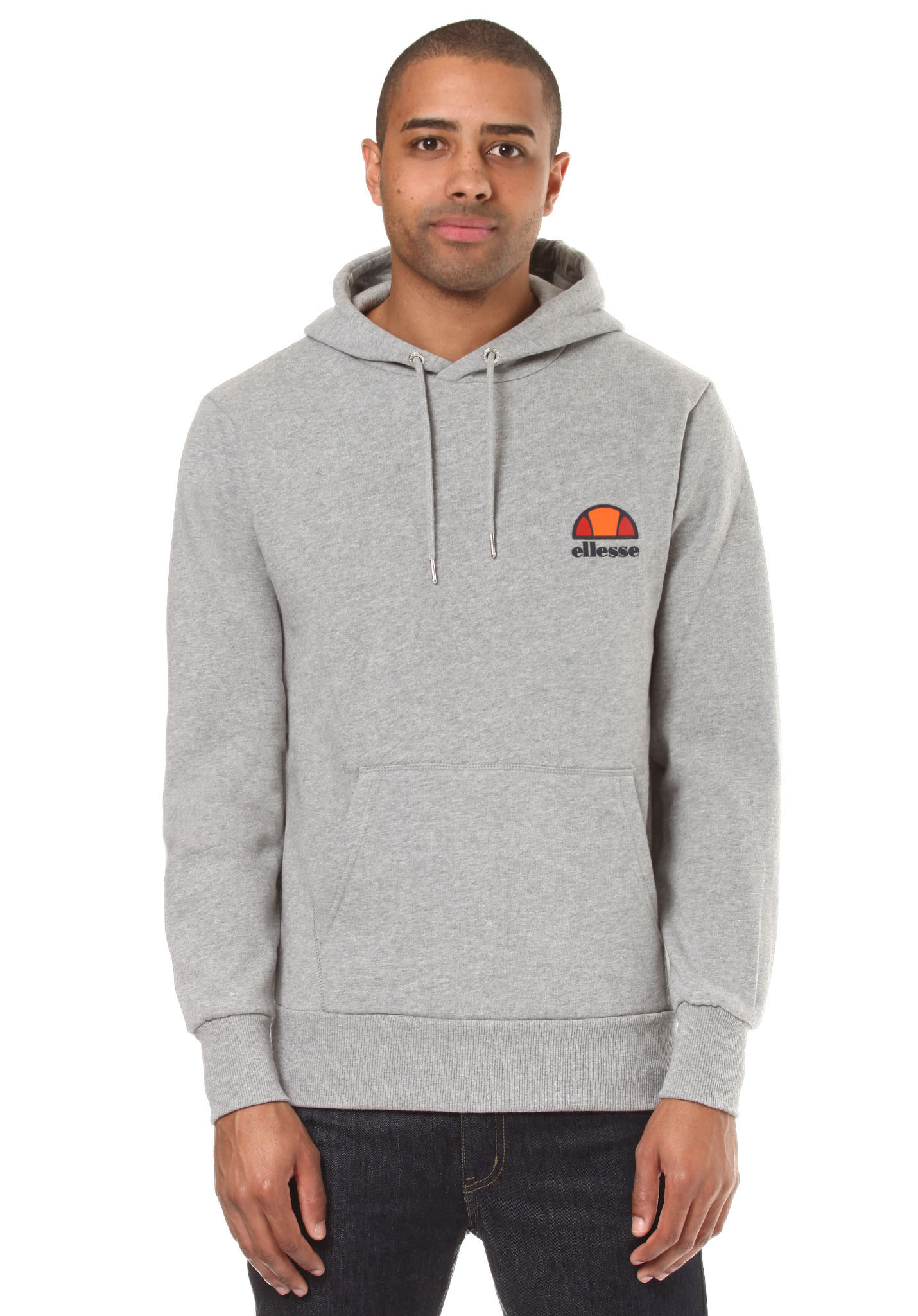 a2bb7a336c66 ELLESSE Toce - Hooded Sweatshirt for Men - Grey - Planet Sports