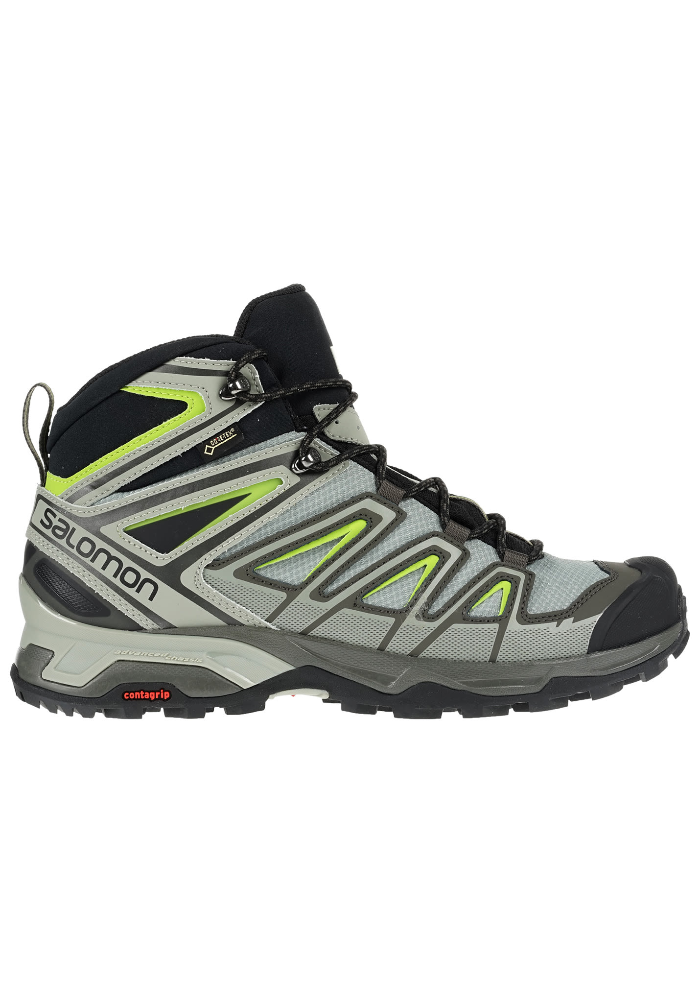 9fbb348fb378 Salomon X Ultra 3 Mid GTX® - Hiking Shoes for Men - Grey - Planet Sports