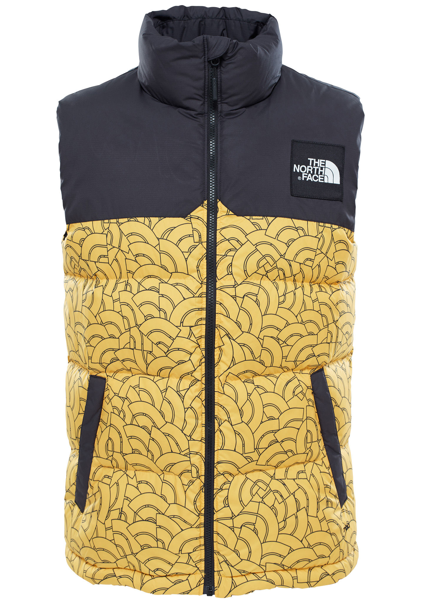 THE NORTH FACE 1992 Nuptse - Outdoor Vest for Men - Yellow - Planet Sports 757222e51