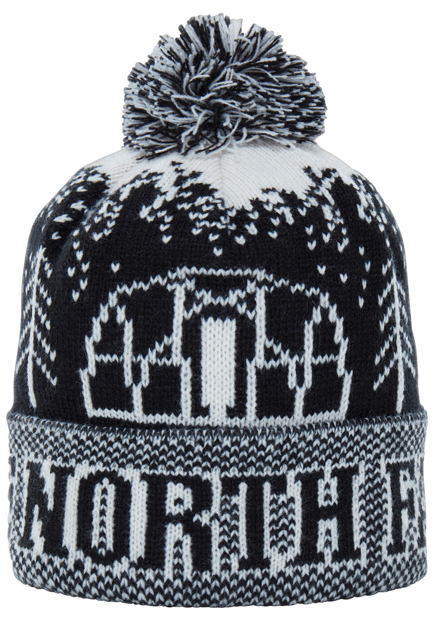 8e59bc202f5 THE NORTH FACE Fair Isle Pom Pom - Beanie for Men - Black - Planet Sports