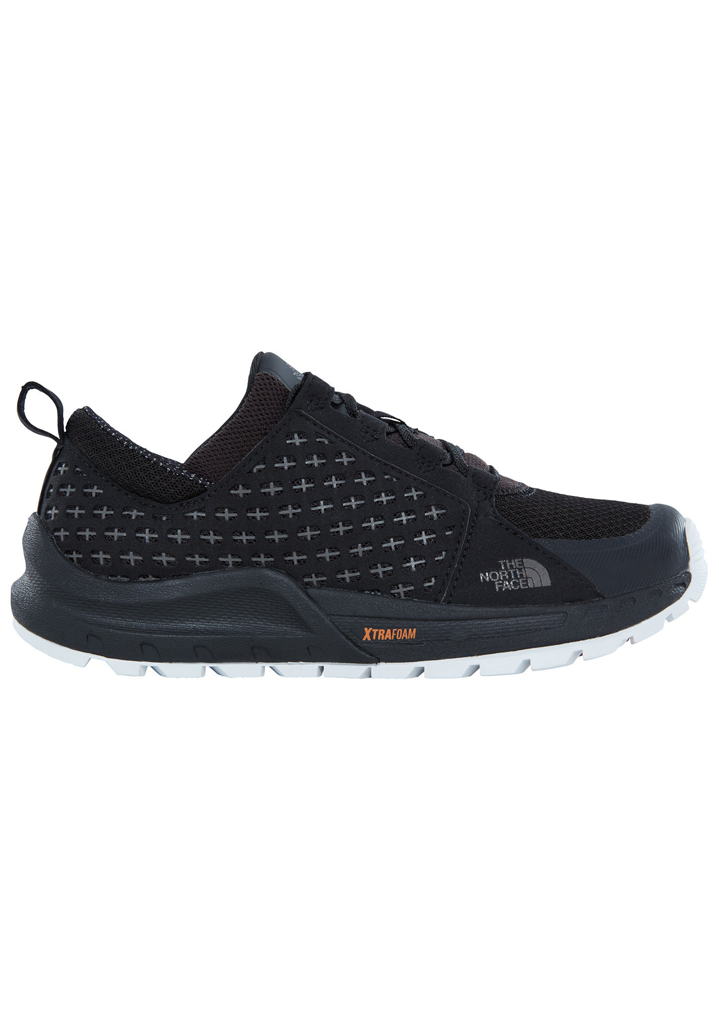 THE NORTH FACE Mountain Sneaker - Hiking Shoes for Women - Black - Planet  Sports 3b3edcedca
