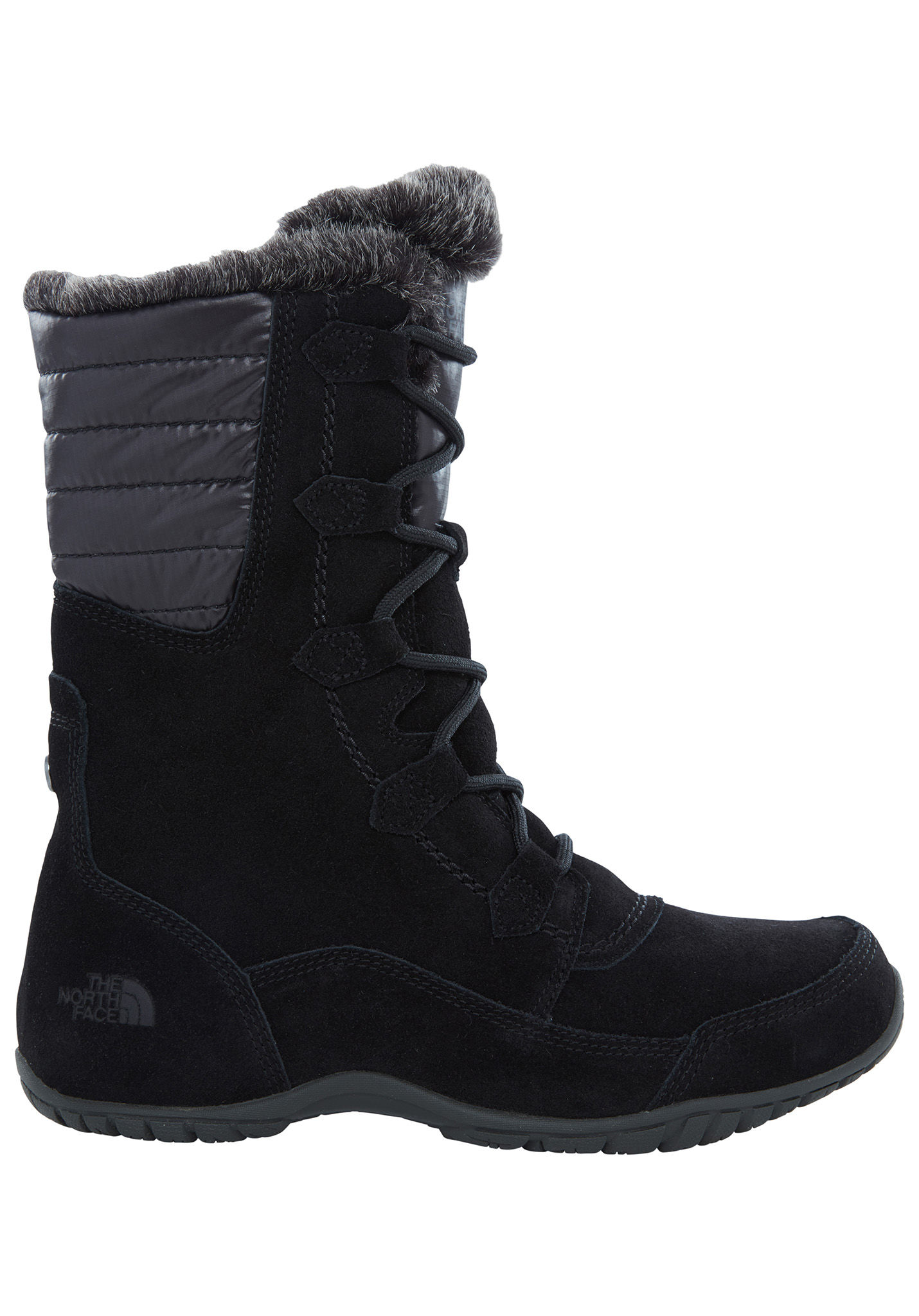 580e8aace58 THE NORTH FACE Nuptse Purna II - Boots for Women - Black - Planet Sports