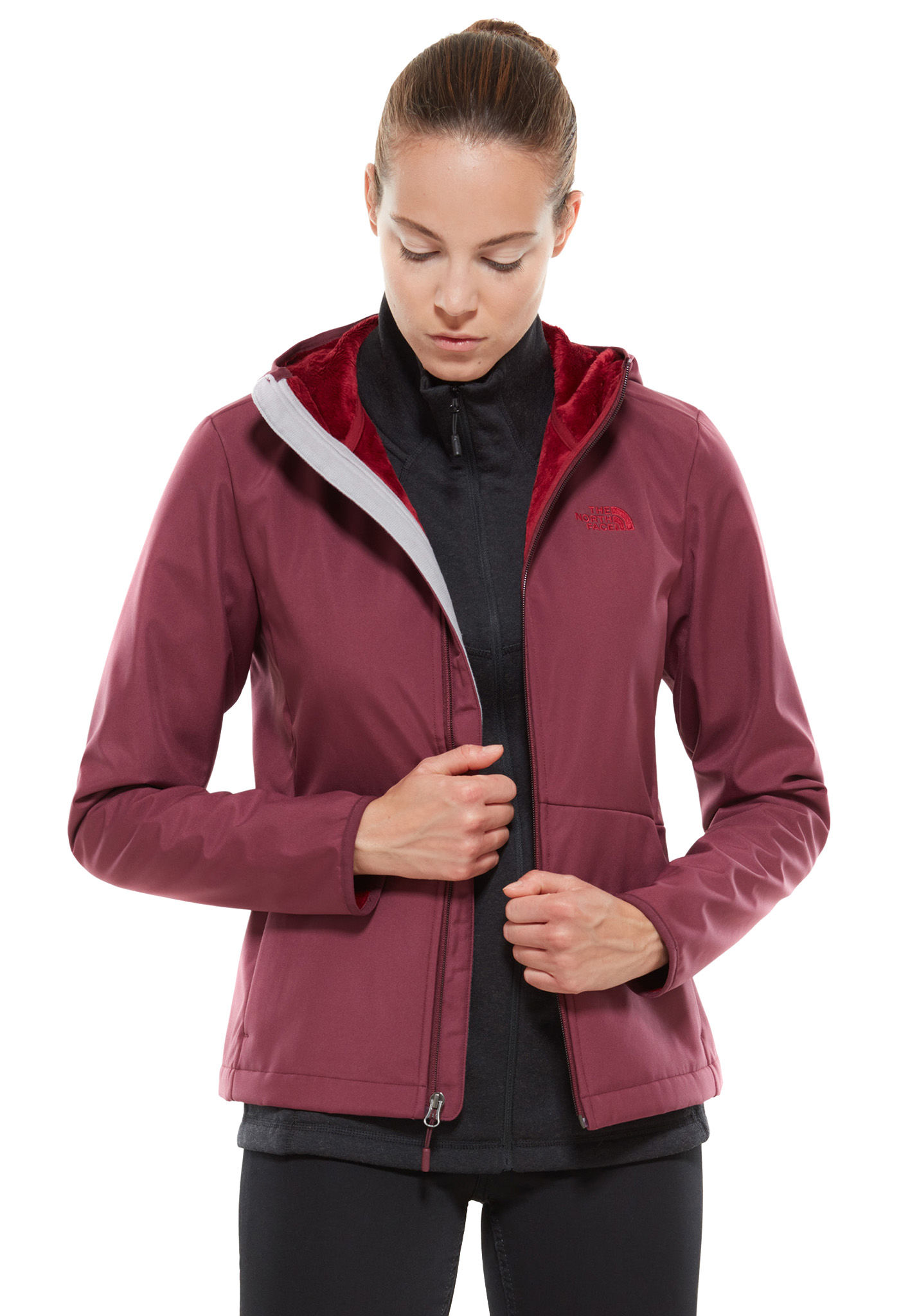 THE NORTH FACE Tanken Highloft Chaqueta de outdoor para Mujeres Gris