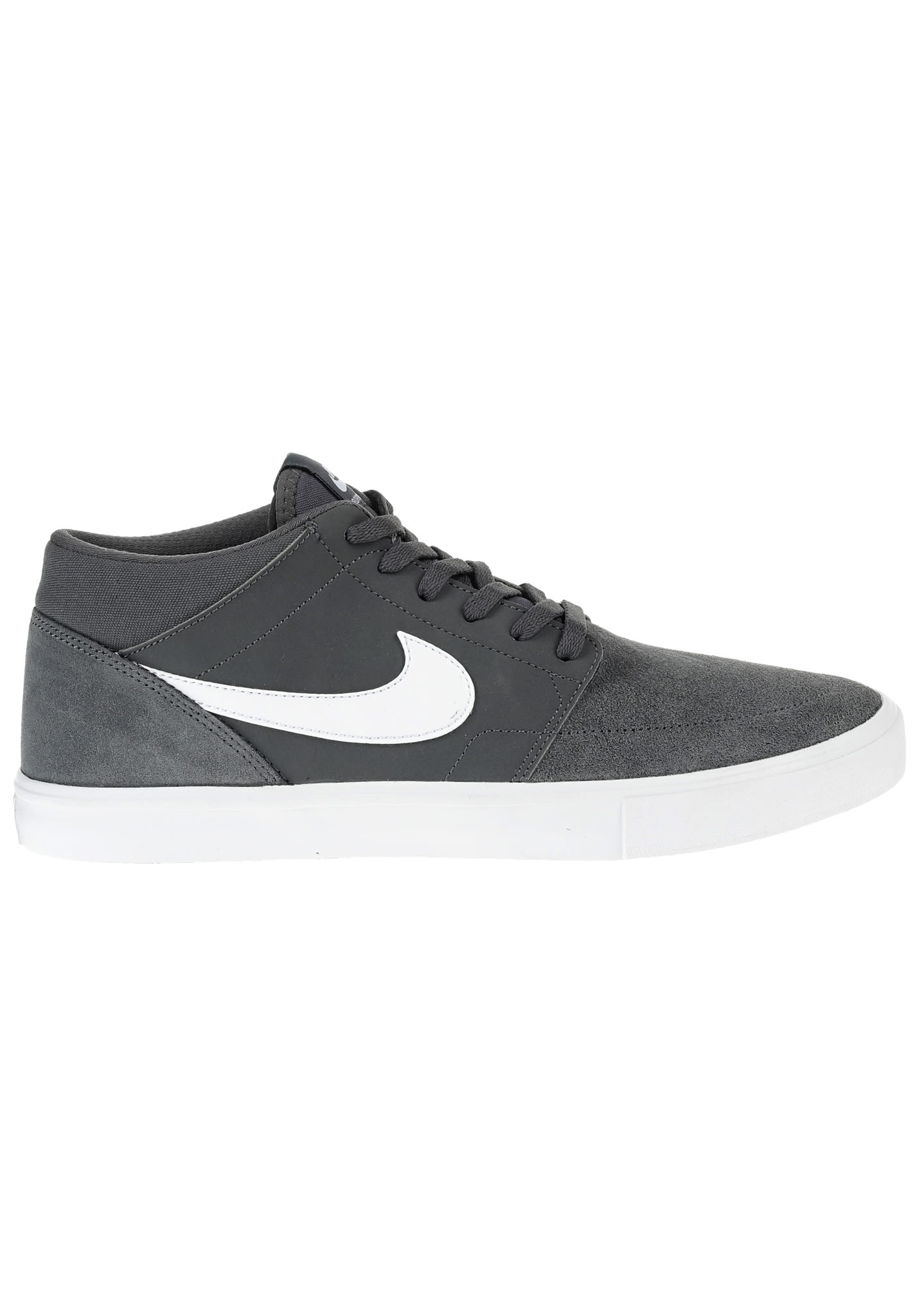 NIKE SB Portmore II Solar Mid - Sneakers for Men - Grey - Planet Sports 9152bf3701a0