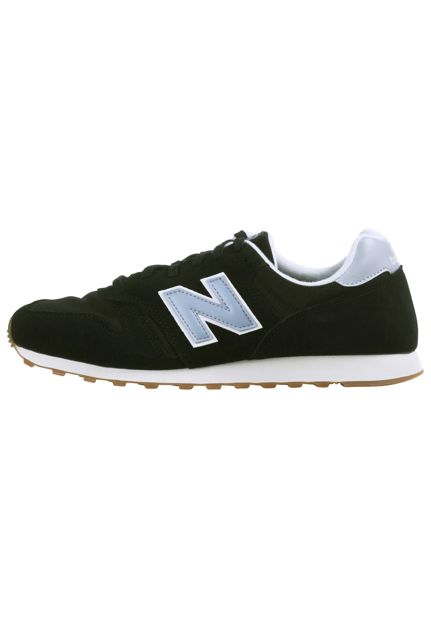 NEW Balance ML 373 D KBG Black Blue Scarpe Sneaker Nero Blu