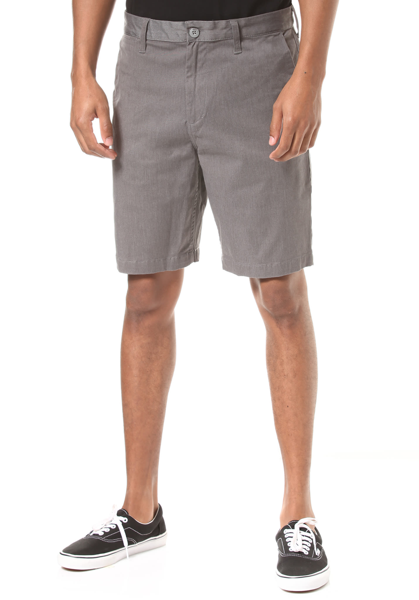 63758cf69d5 DC Work Hea Straight - Chino Shorts for Men - Grey - Planet Sports