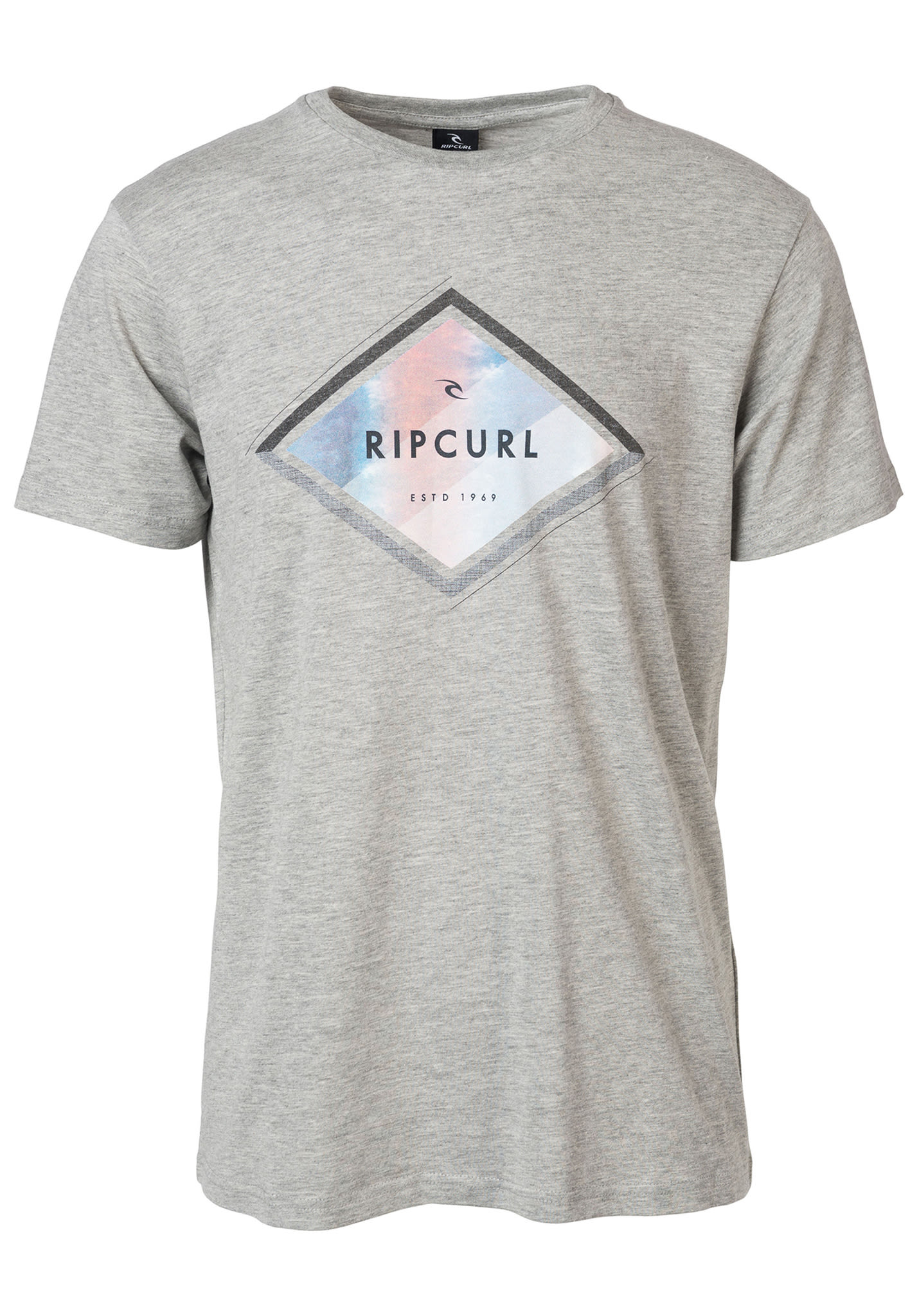 Rip Curl A-Frame - T-Shirt for Men - Grey - Planet Sports