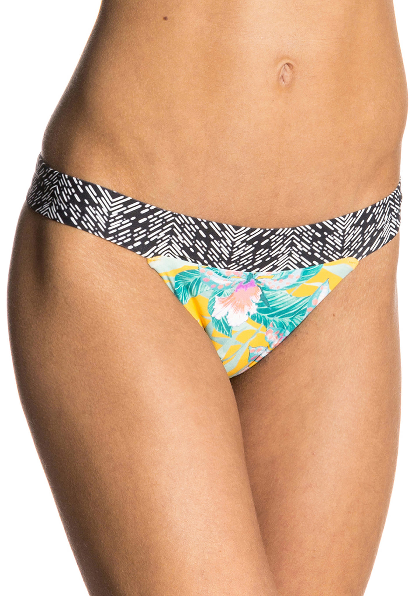 b5187eba0f Rip Curl Tropic Tribe Cheeky - Bikini Bottom for Women - Yellow