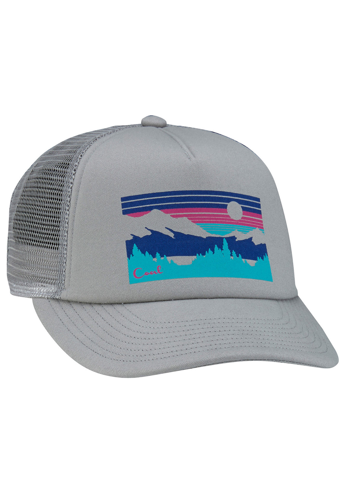 cbd7852e33b95 Coal The Seneca - Trucker Cap - Grey - Planet Sports
