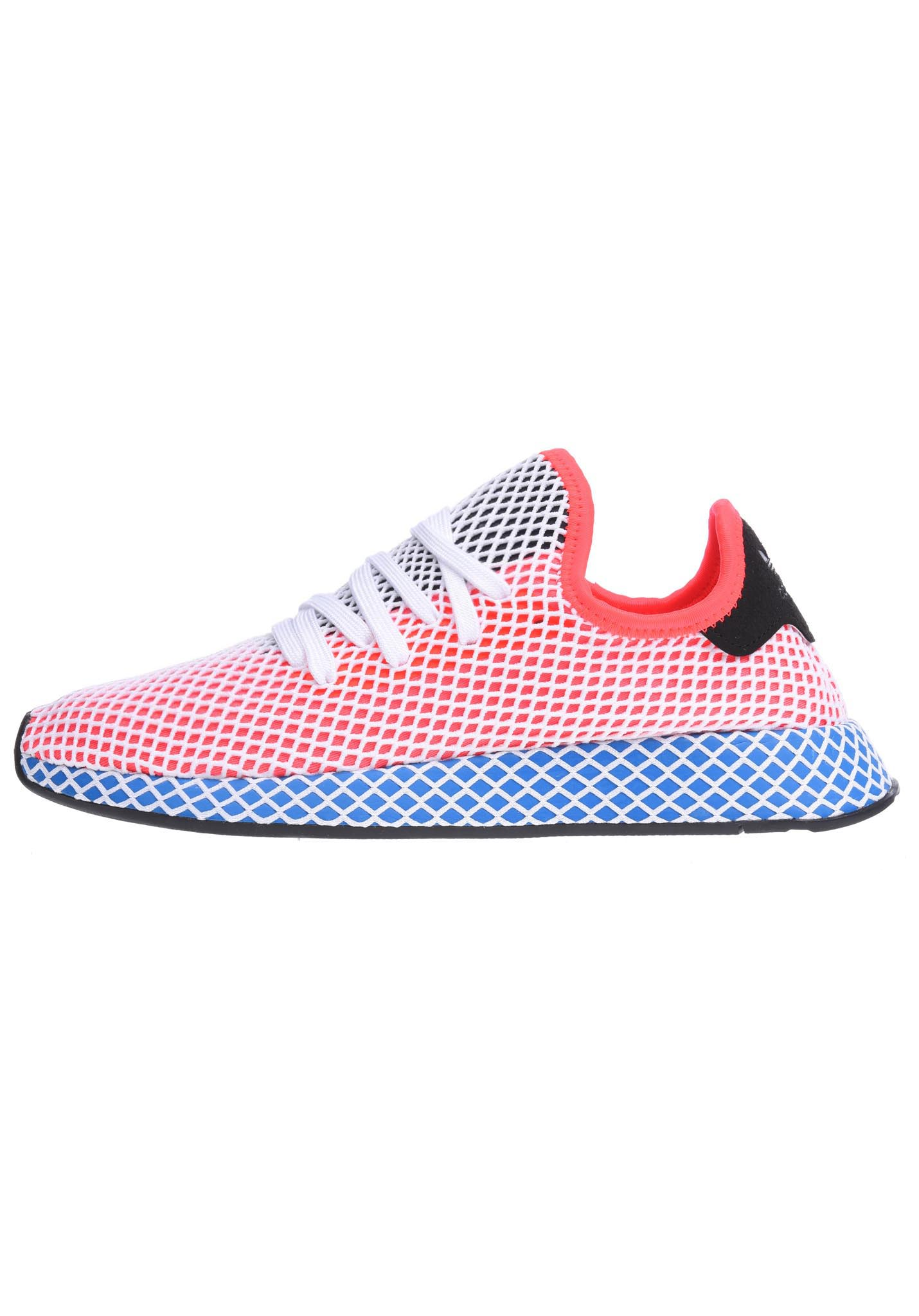 new product f6a7d d55ef ADIDAS ORIGINALS Deerupt Runner - Sneakers for Men - Red - P