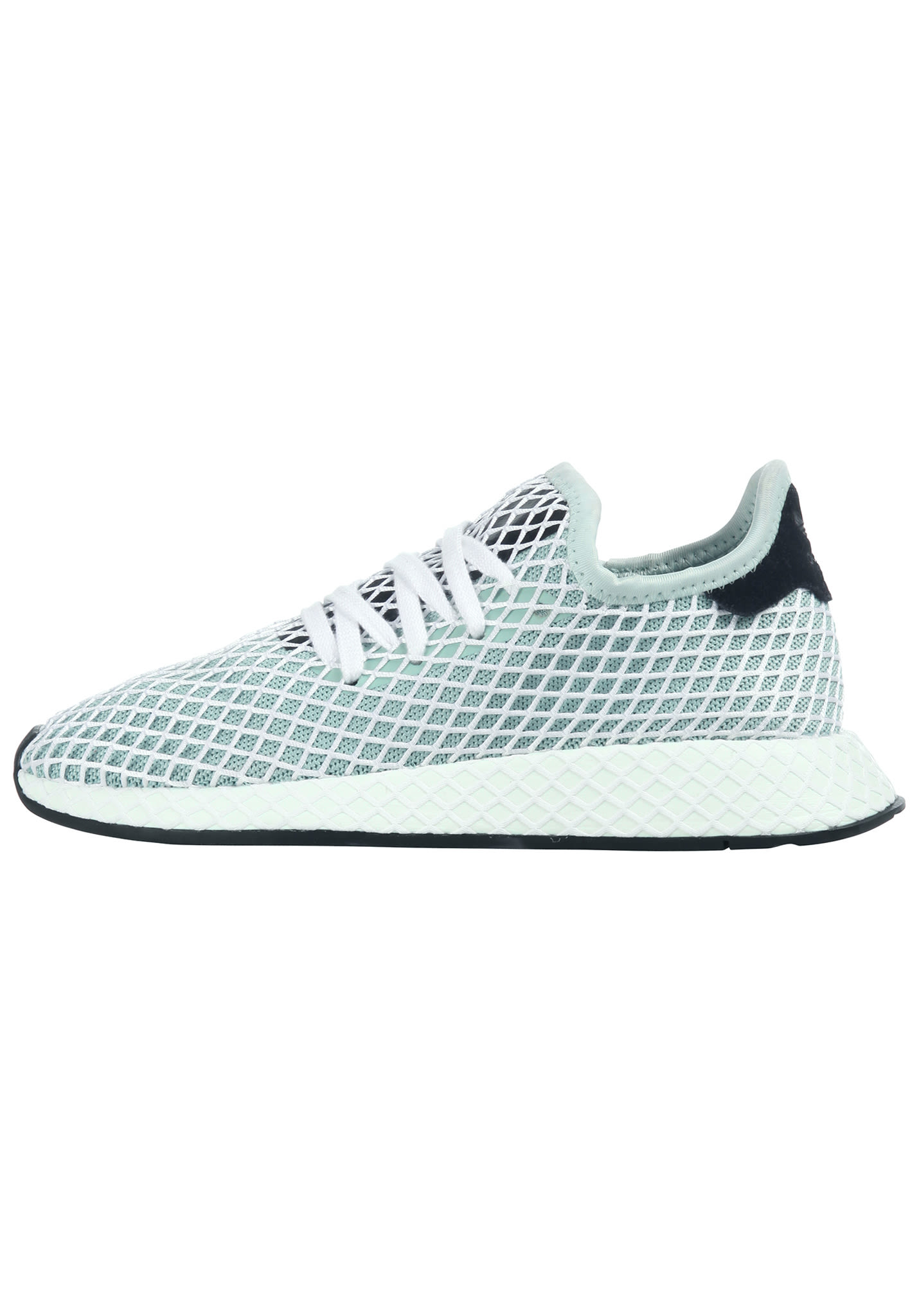 sale retailer 9a847 e459f ADIDAS ORIGINALS Deerupt Runner - Sneaker per Donna - Verde - Planet Sports