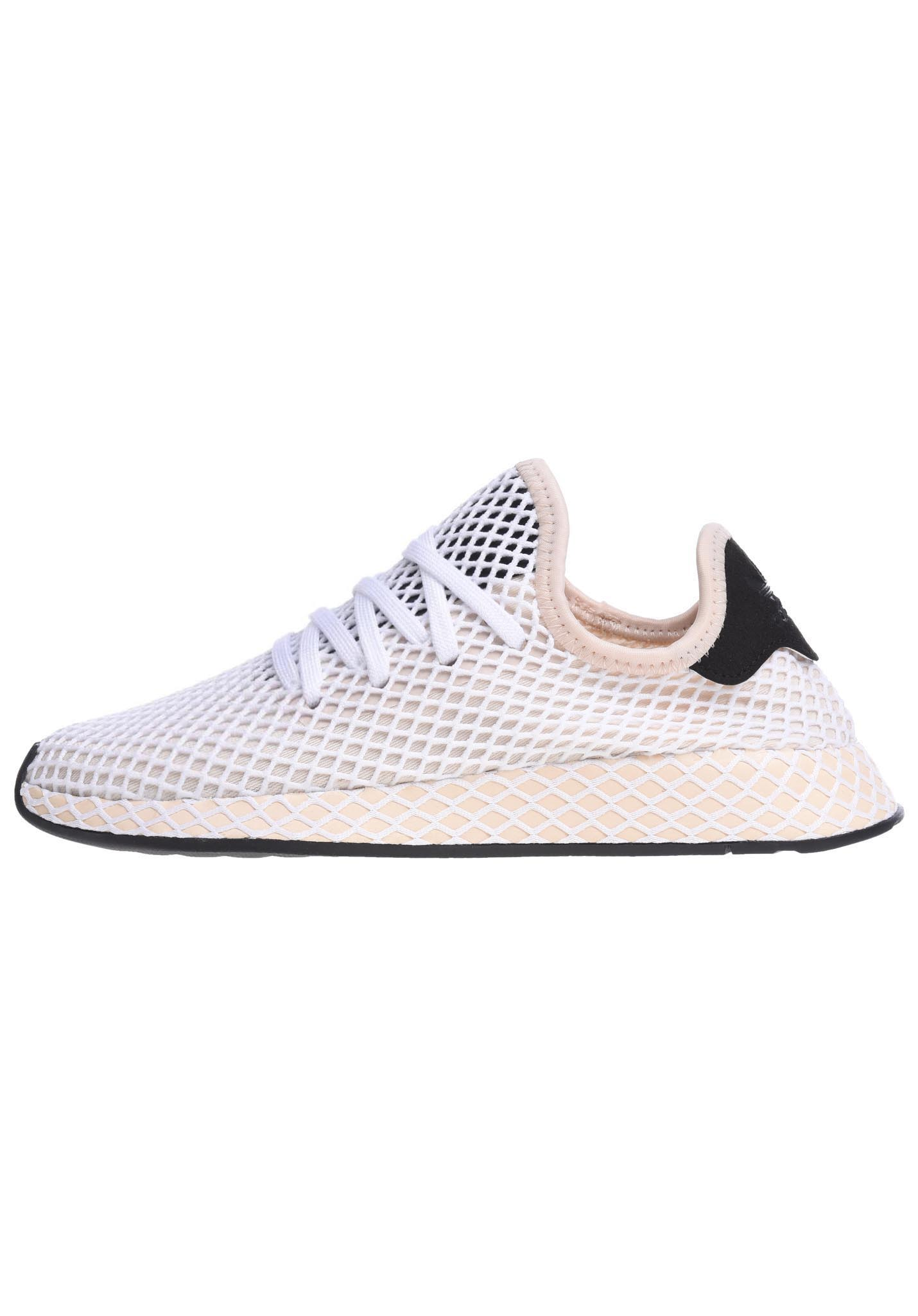 new concept cda25 728a5 ADIDAS ORIGINALS Deerupt Runner - Sneakers for Women - White - Planet Sports