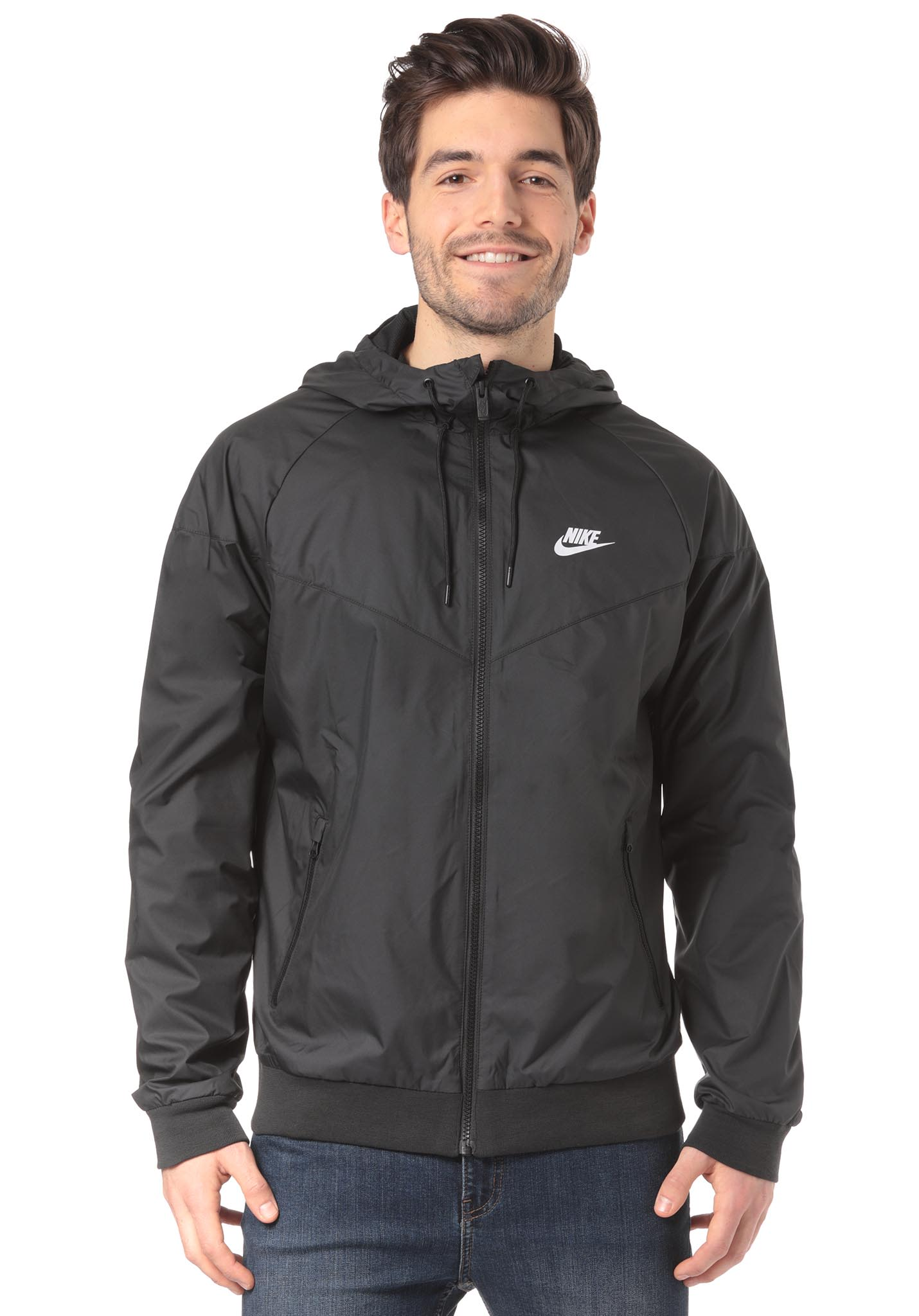 NIKE SPORTSWEAR Windrunner - Jacket for Men - Black - Planet Sports 97bcf00a9