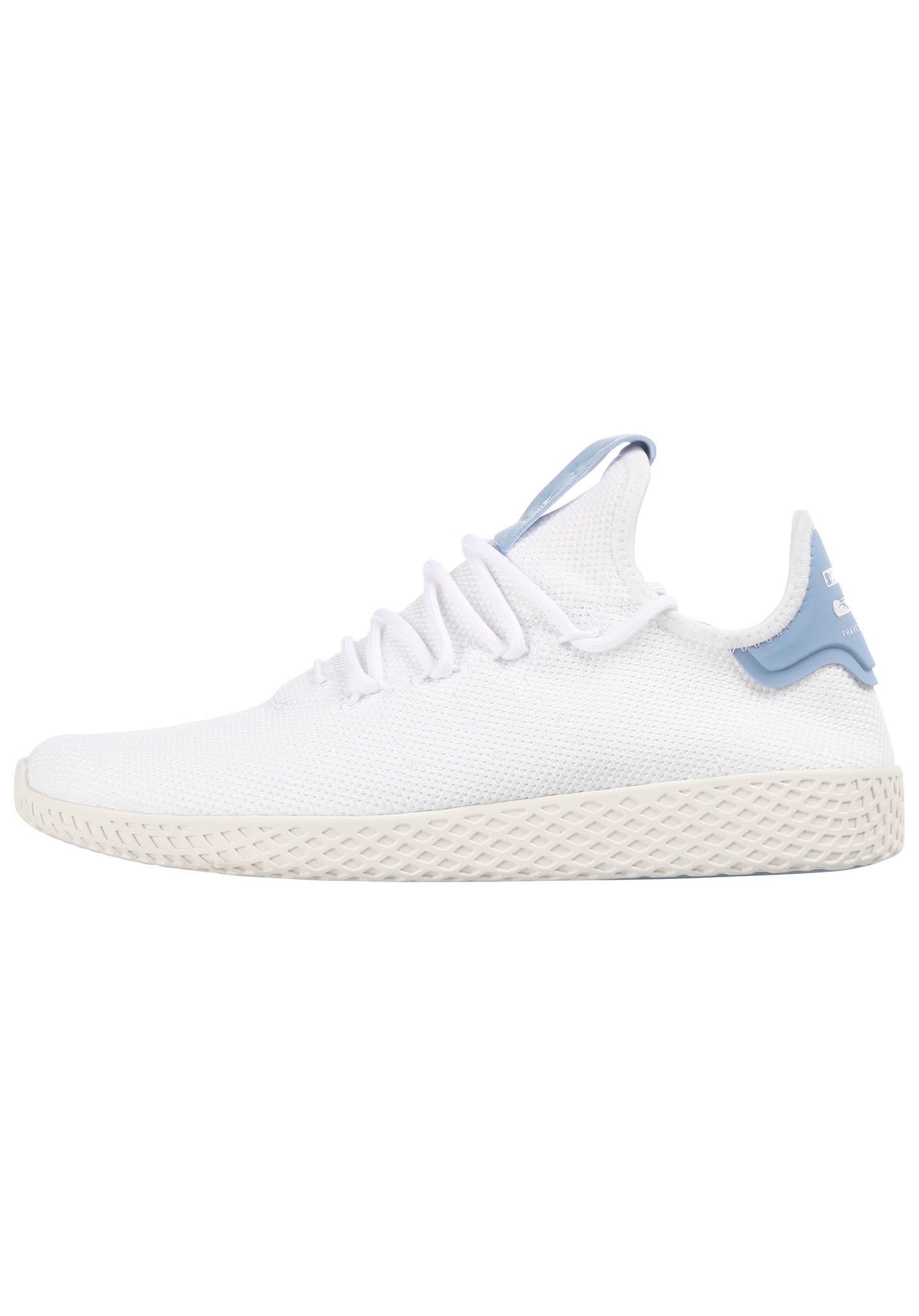 Pharrell Per Adidas Uomo Bianco Tennis Williams Hu Sneaker