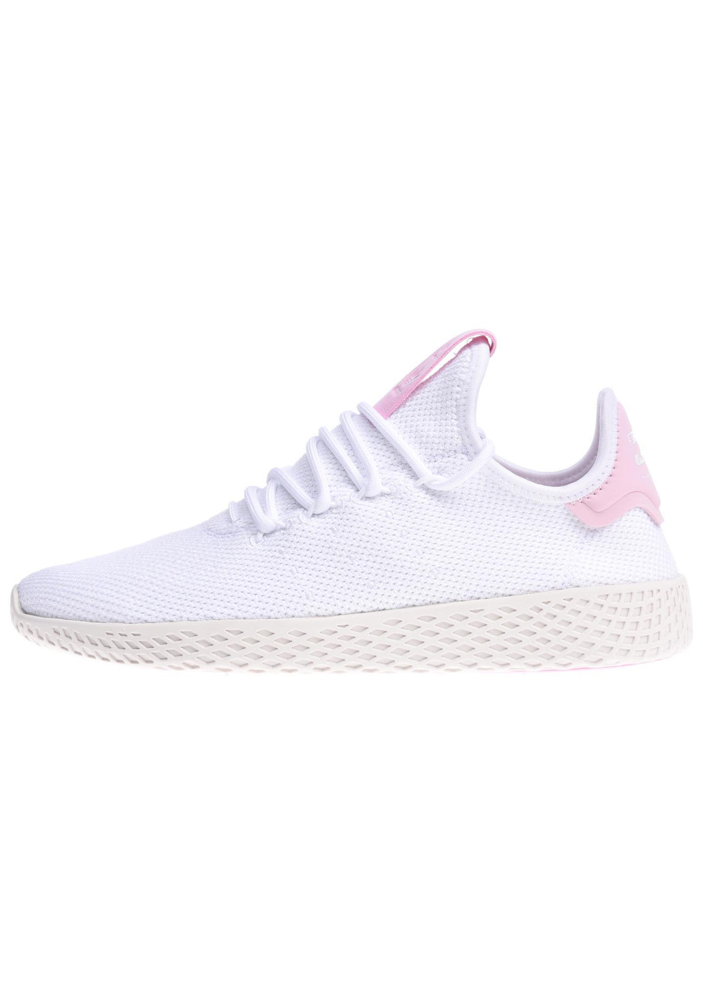 1858b40d1a3 ADIDAS ORIGINALS Pharrell Williams Tennis Hu - Sneakers for Women - White -  Planet Sports