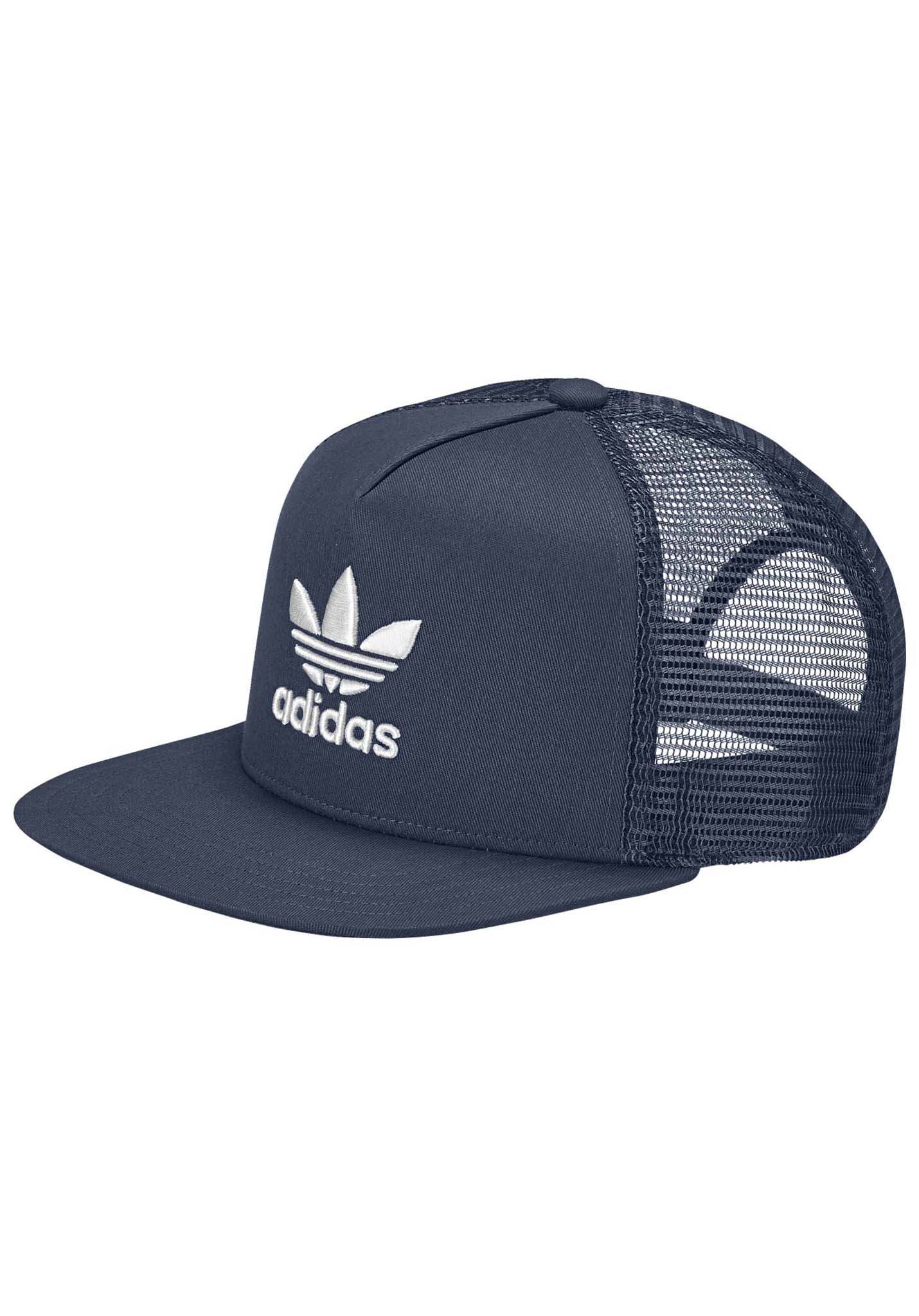 ADIDAS ORIGINALS Trefoil - Trucker Cap - Blue - Planet Sports feb09d69787