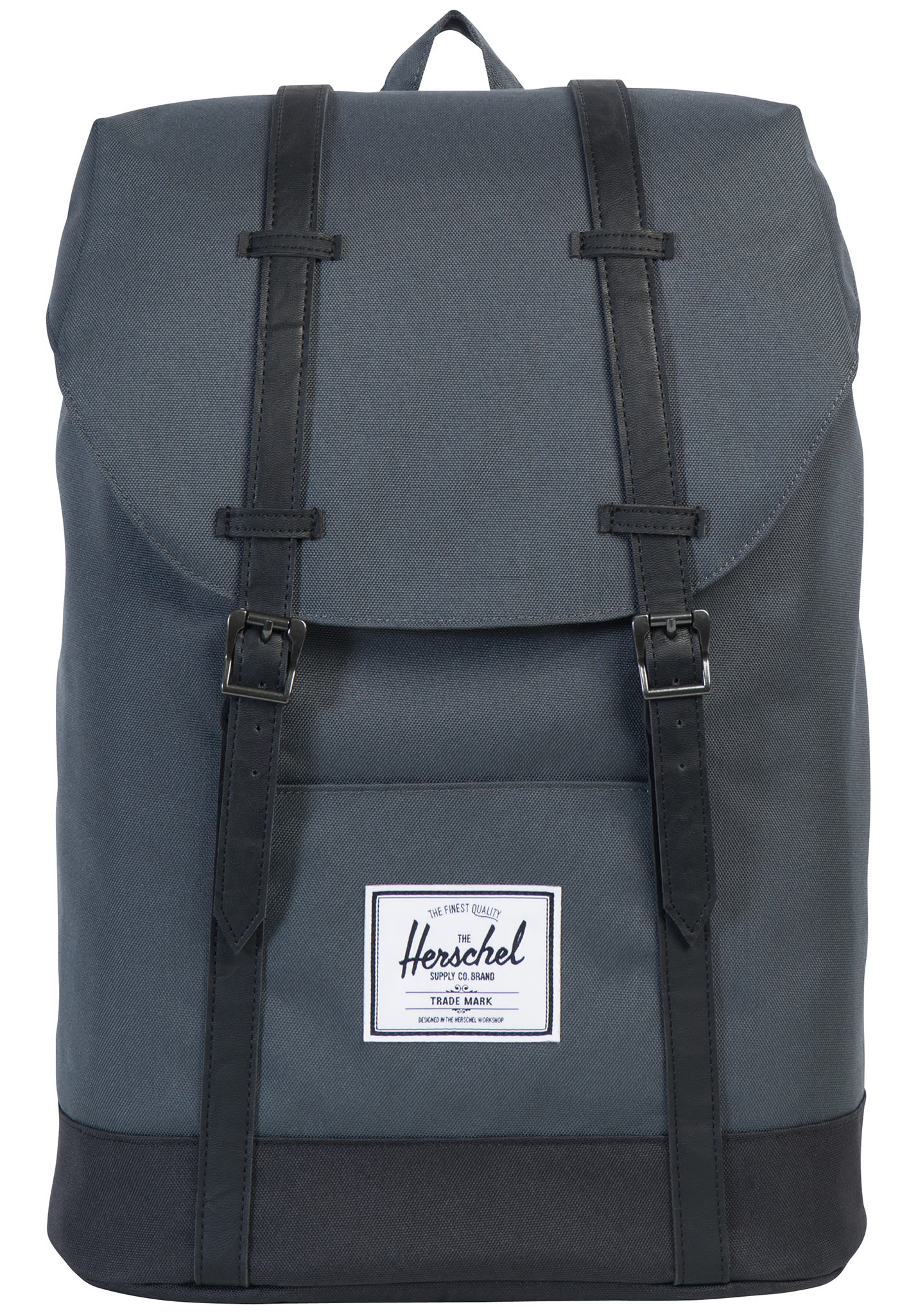 Sac à dos à sangles Herschel Retreat Dark Shadow/Black/Black gris