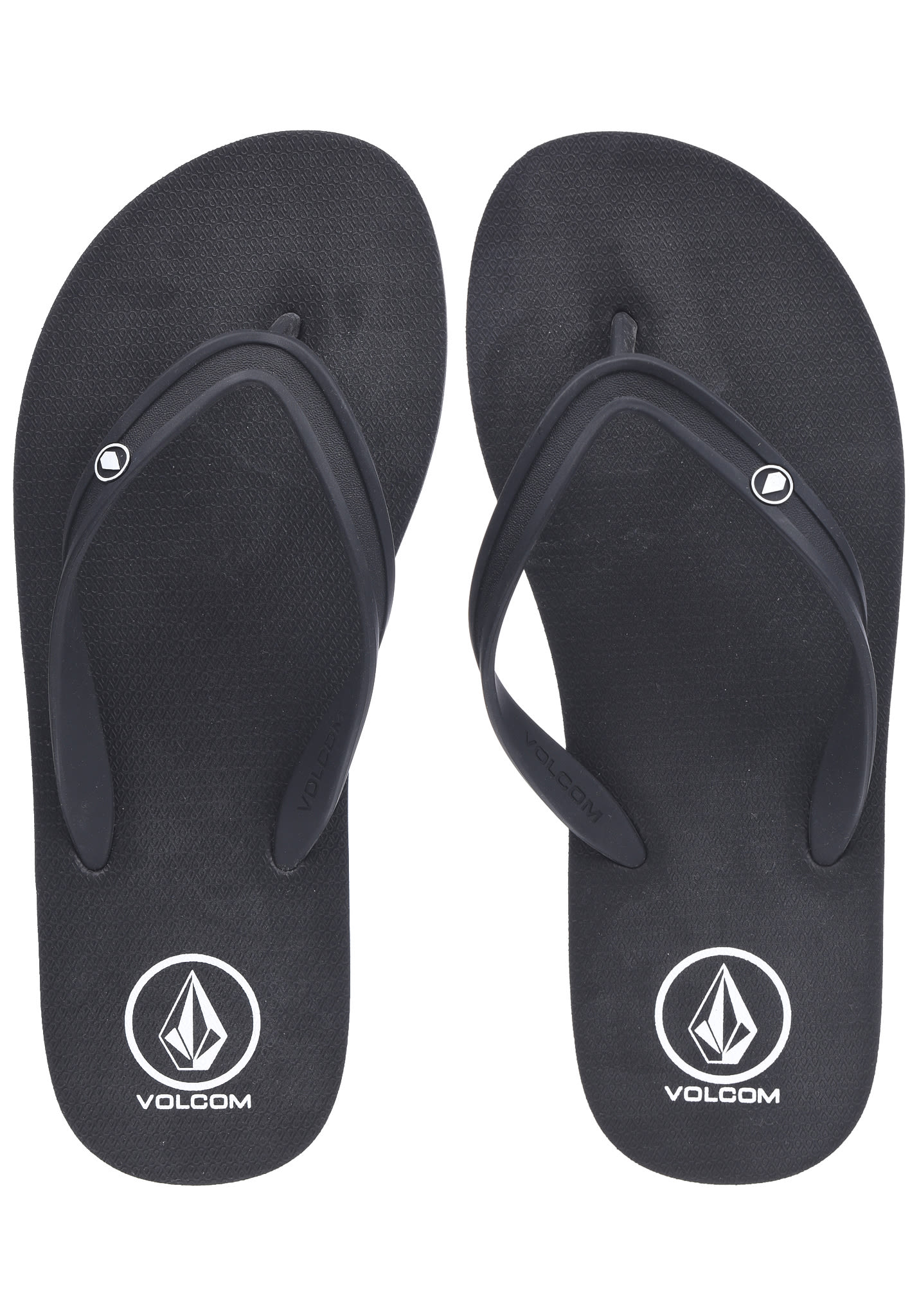dda05d07f84ba0 Volcom Rocker 2 Solid - Sandals for Men - Black - Planet Sports